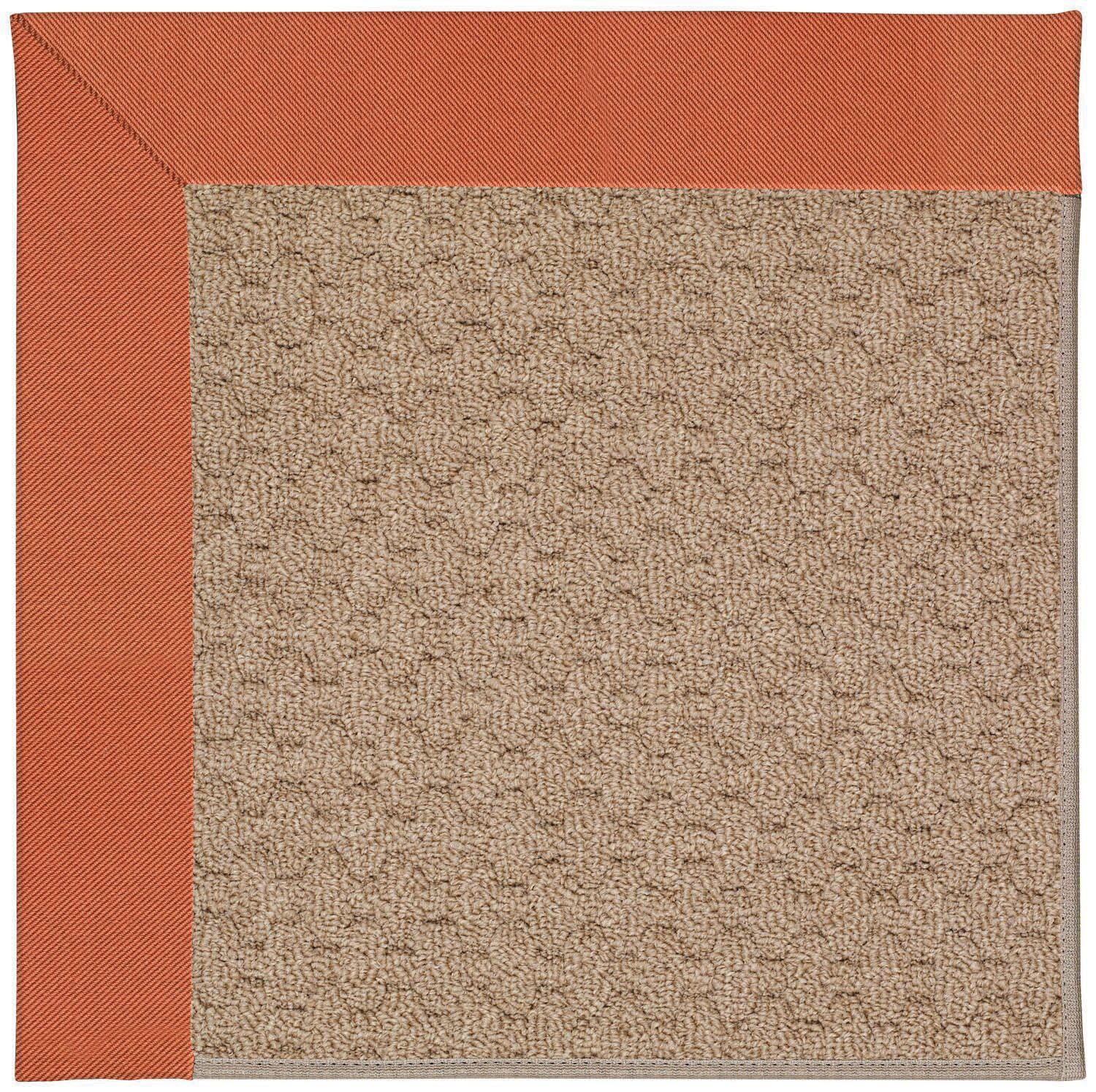 Lisle Machine Tufted Clay/Brown Indoor/Outdoor Area Rug Rug Size: Rectangle 7' x 9'