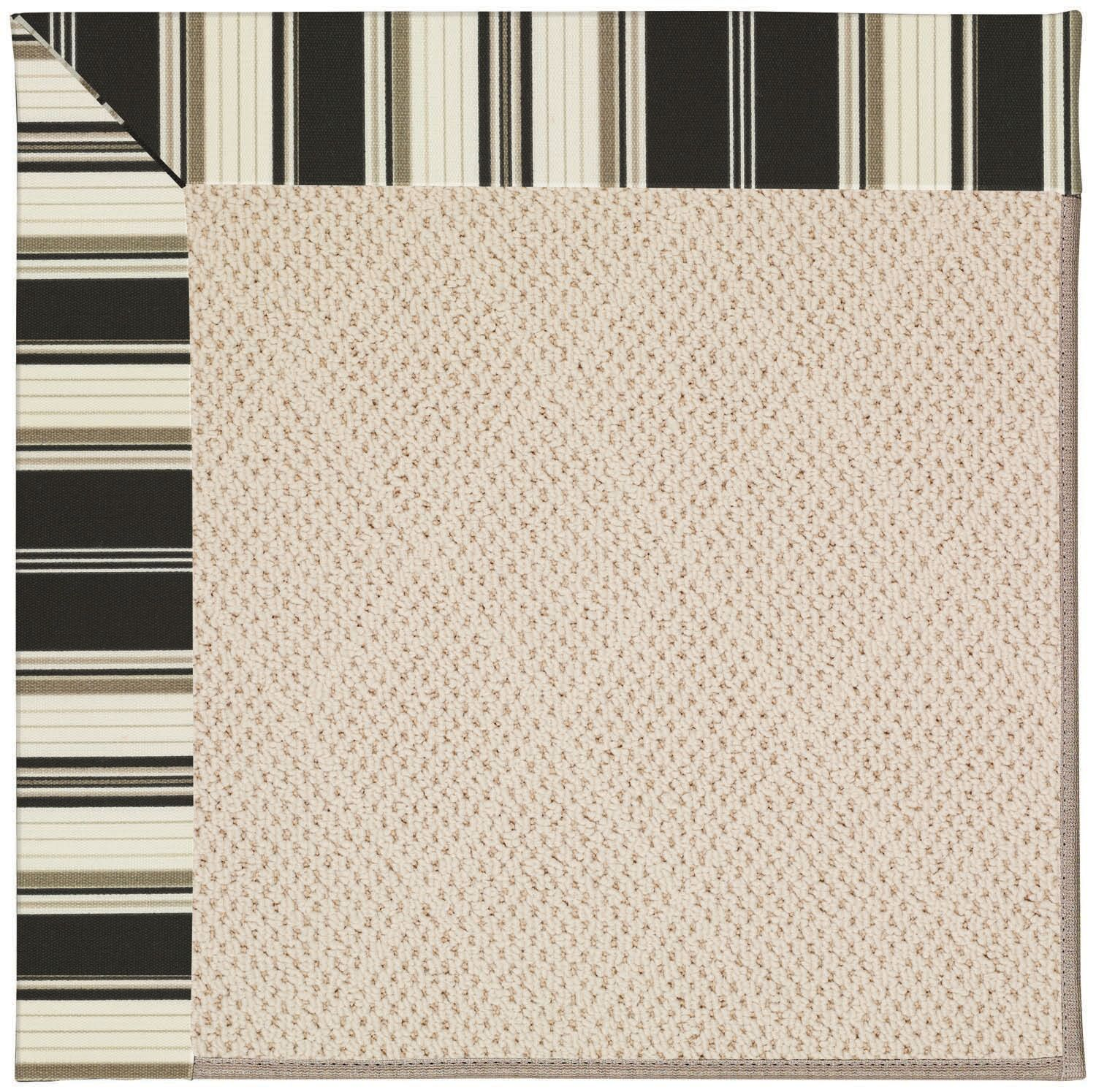 Lisle Beige Indoor/Outdoor Area Rug Rug Size: Square 4'
