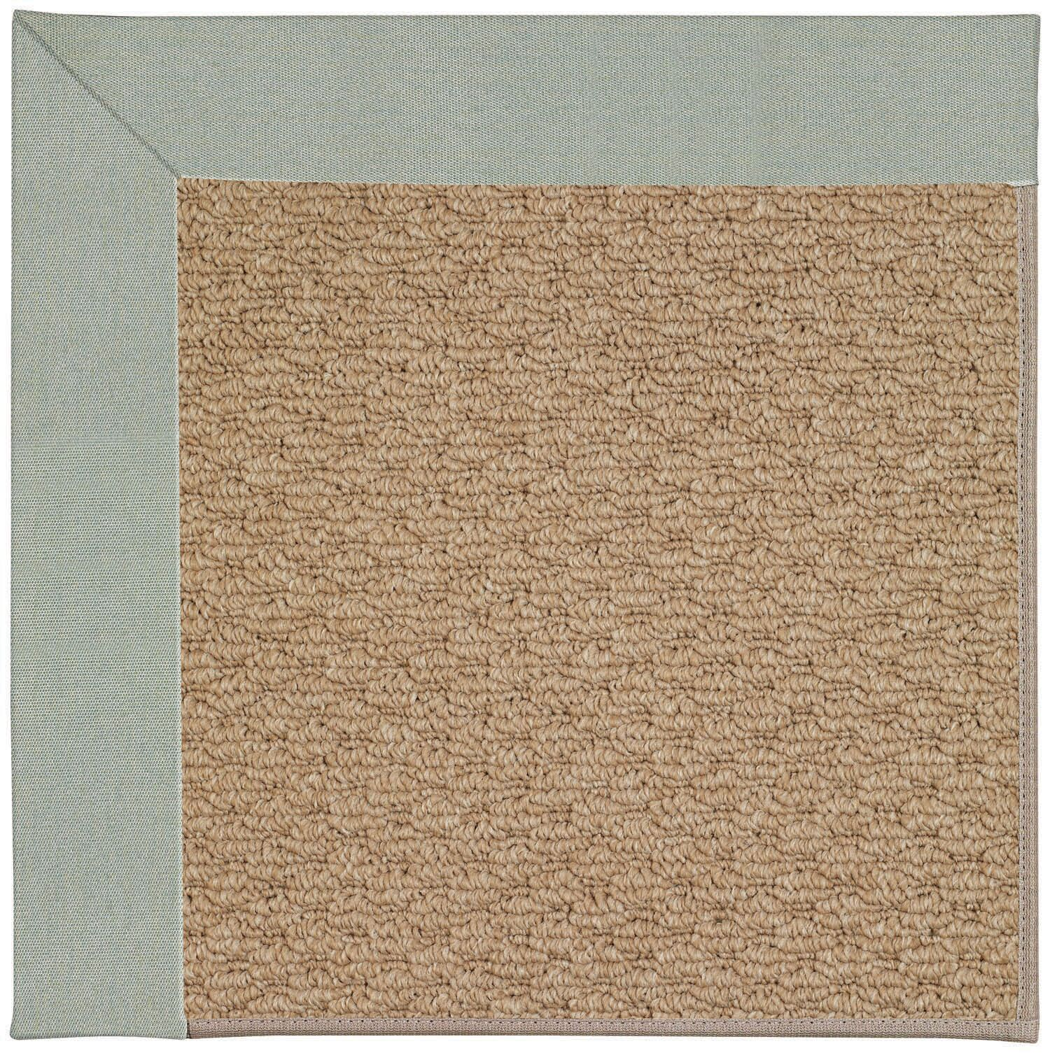 Lisle Machine Tufted Marine Blue/Brown Indoor/Outdoor Area Rug Rug Size: Rectangle 10' x 14'