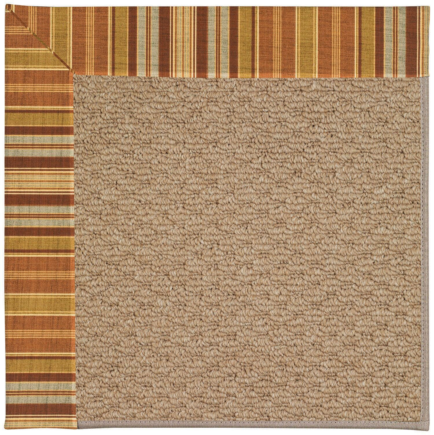Lisle Machine Tufted Button Mushroom/Brown Indoor/Outdoor Area Rug Rug Size: Rectangle 7' x 9'