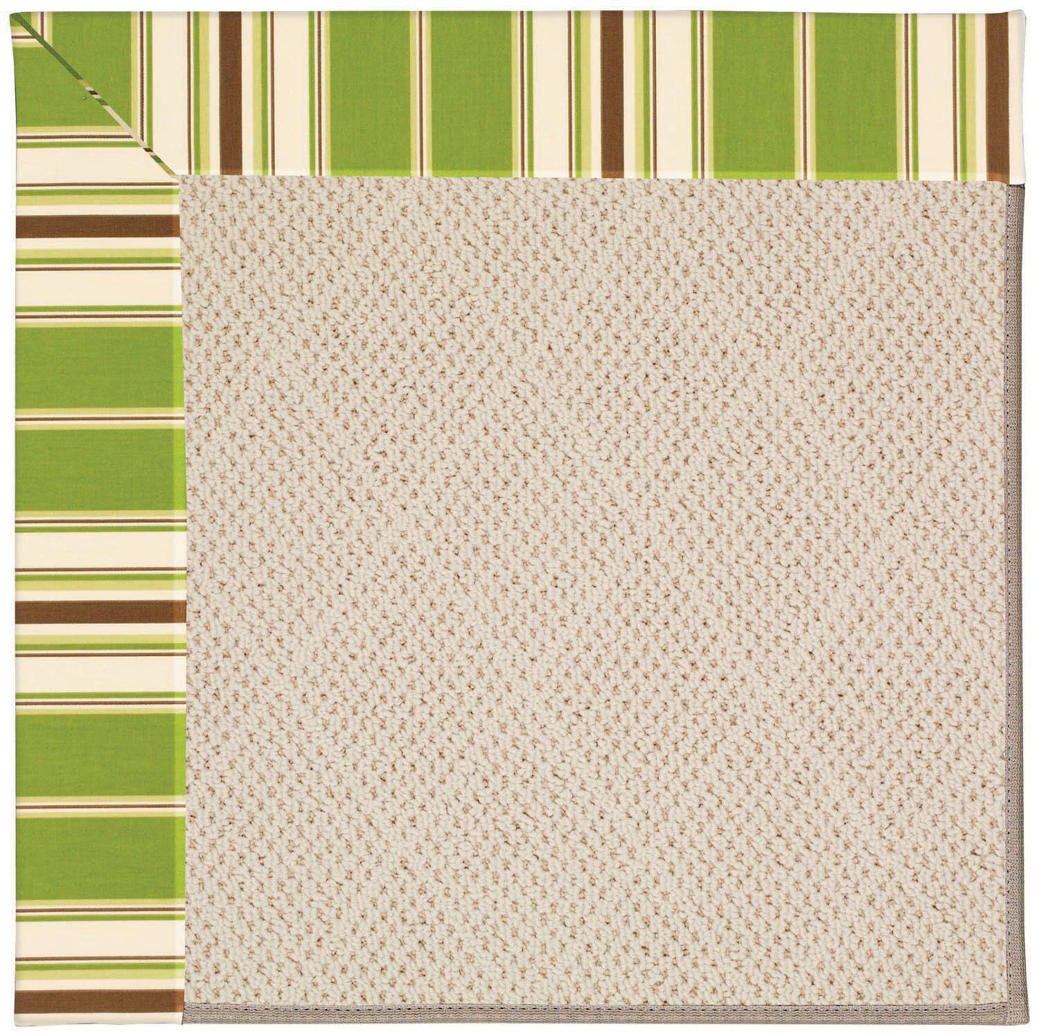 Lisle Beige Indoor/Outdoor Area Rug Rug Size: Square 6'