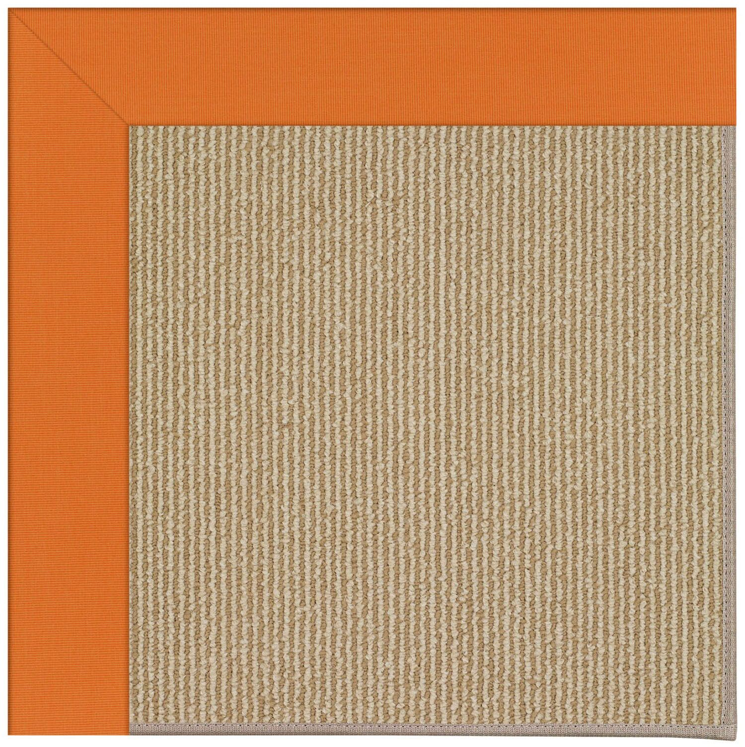 Lisle Machine Tufted Clementine/Brown Indoor/Outdoor Area Rug Rug Size: Square 10'