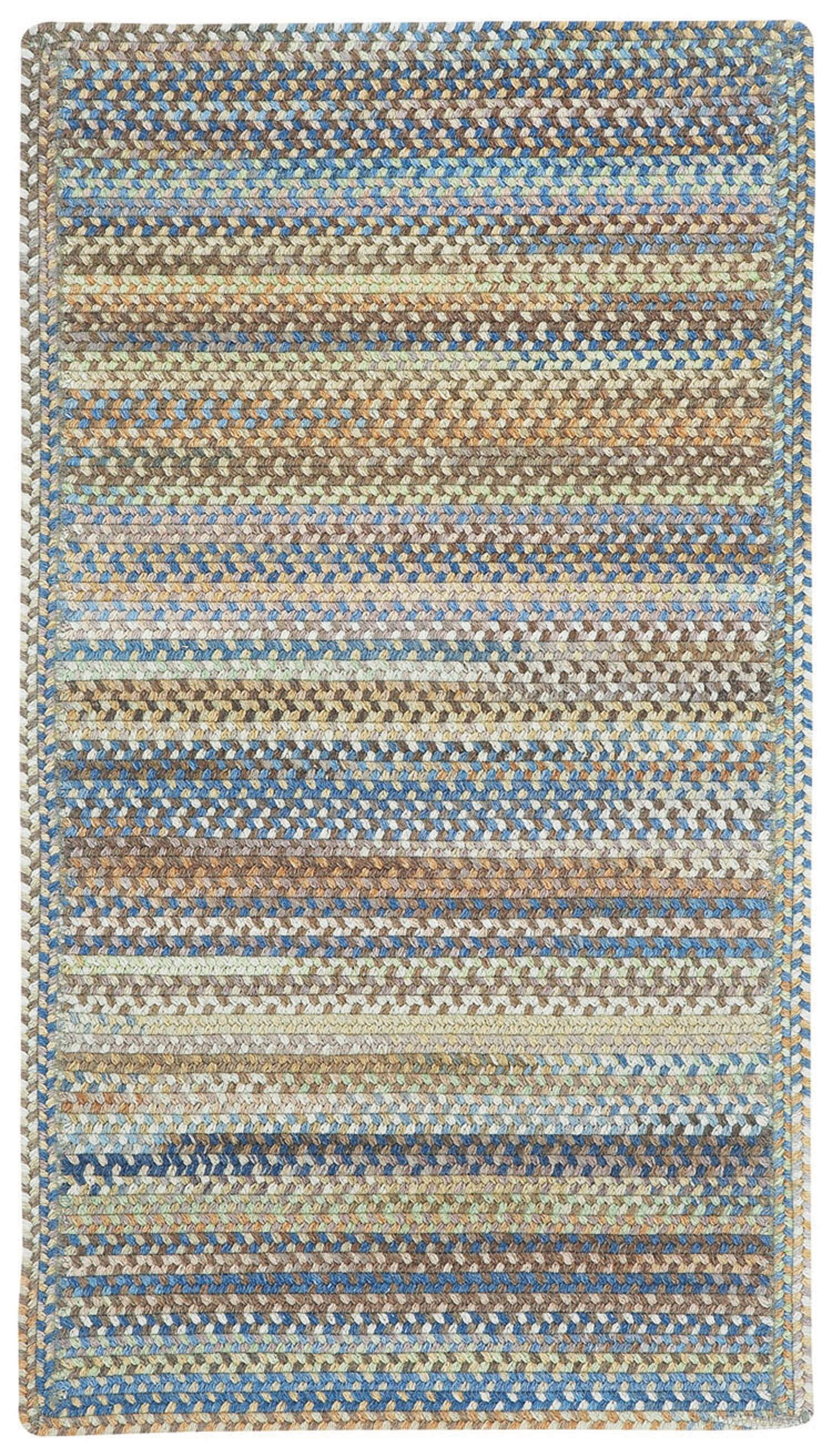 Phoebe Multi Rug Rug Size: Cross Sewn Square 8'6