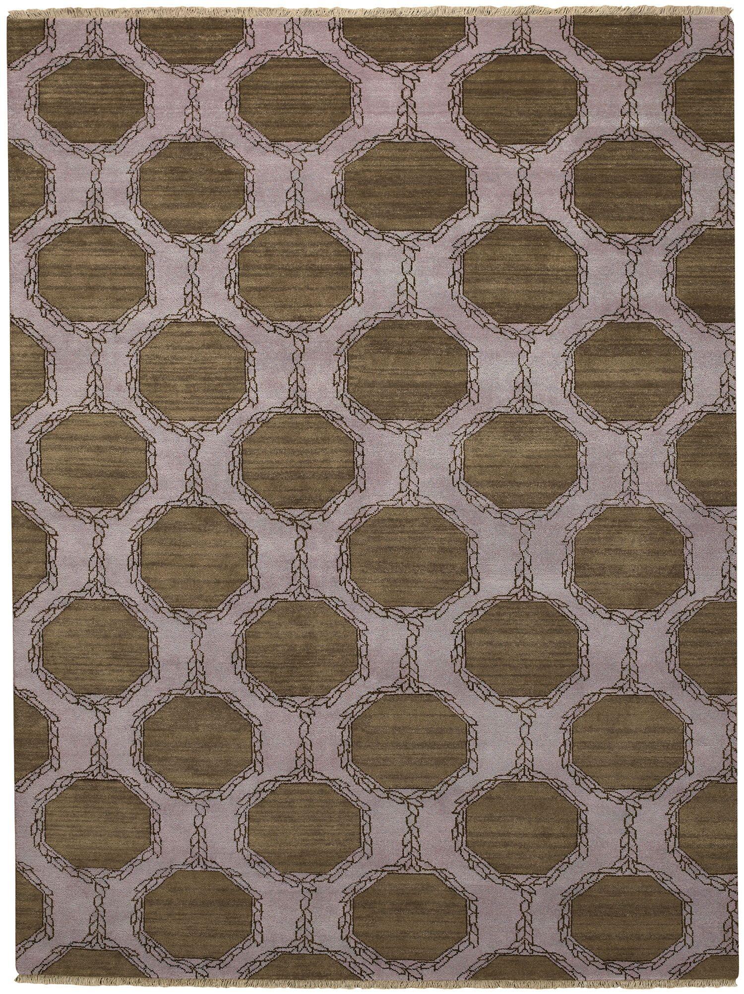 Penny Tawny Trellis Brown/Purple Area Rug Rug Size: Rectangle 8' x 11'