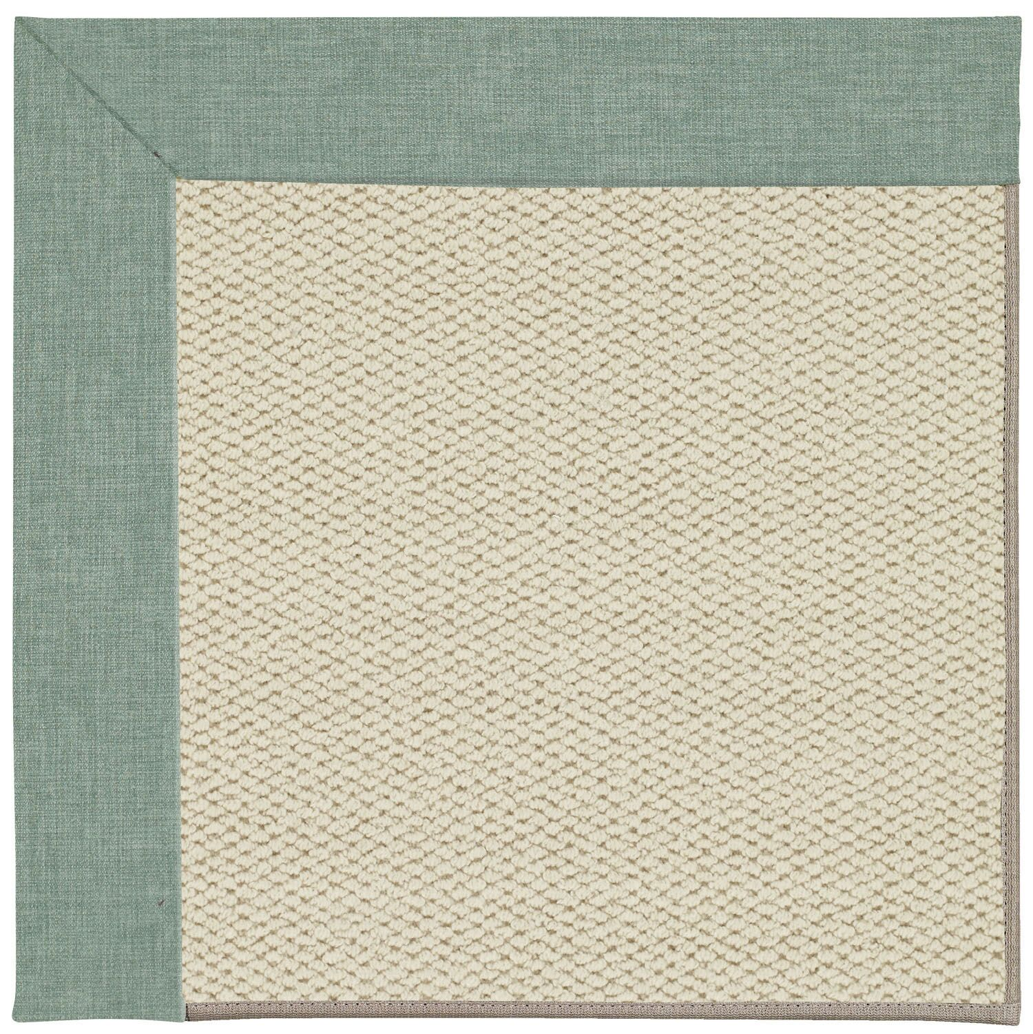 Barrett Linen Machine Tufted Reef/Beige Area Rug Rug Size: Rectangle 12' x 15'