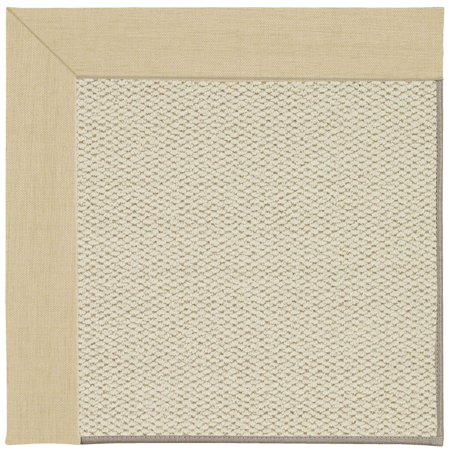 Barrett Linen Machine Tufted Ivory/Beige Area Rug Rug Size: Rectangle 8' x 10'