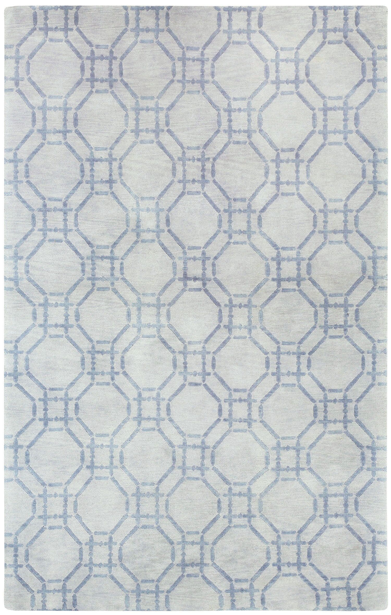 Cococozy Hoop Hand Knotted Area Rug Rug Size: 5' x 8'