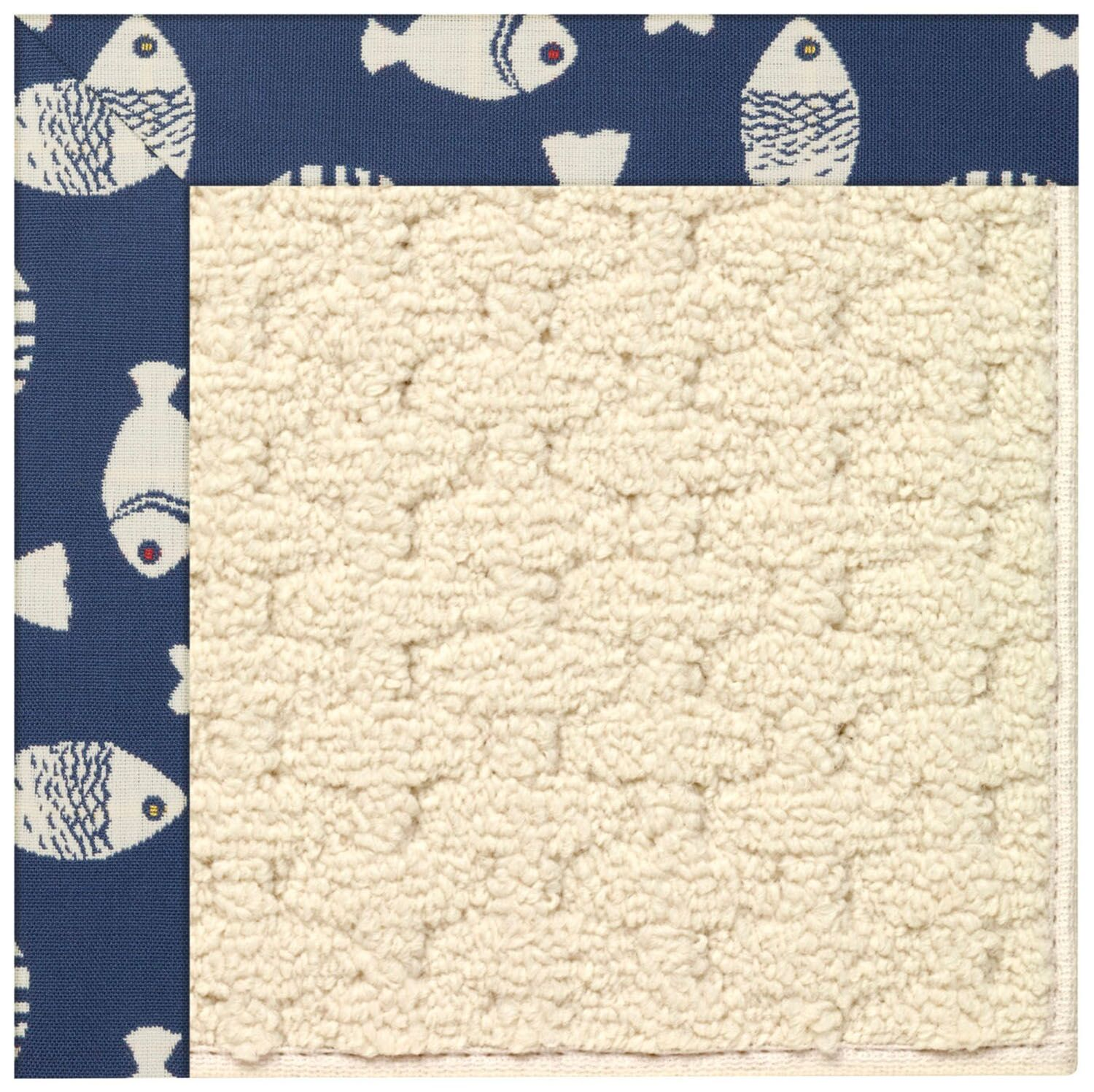 Lisle Off White Indoor/Outdoor Area Rug Rug Size: Rectangle 12' x 15'