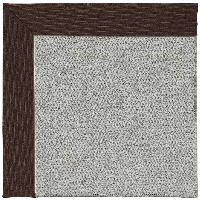 Barrett Silver Machine Tufted Cocoa/Gray Area Rug Rug Size: Rectangle 8' x 10'