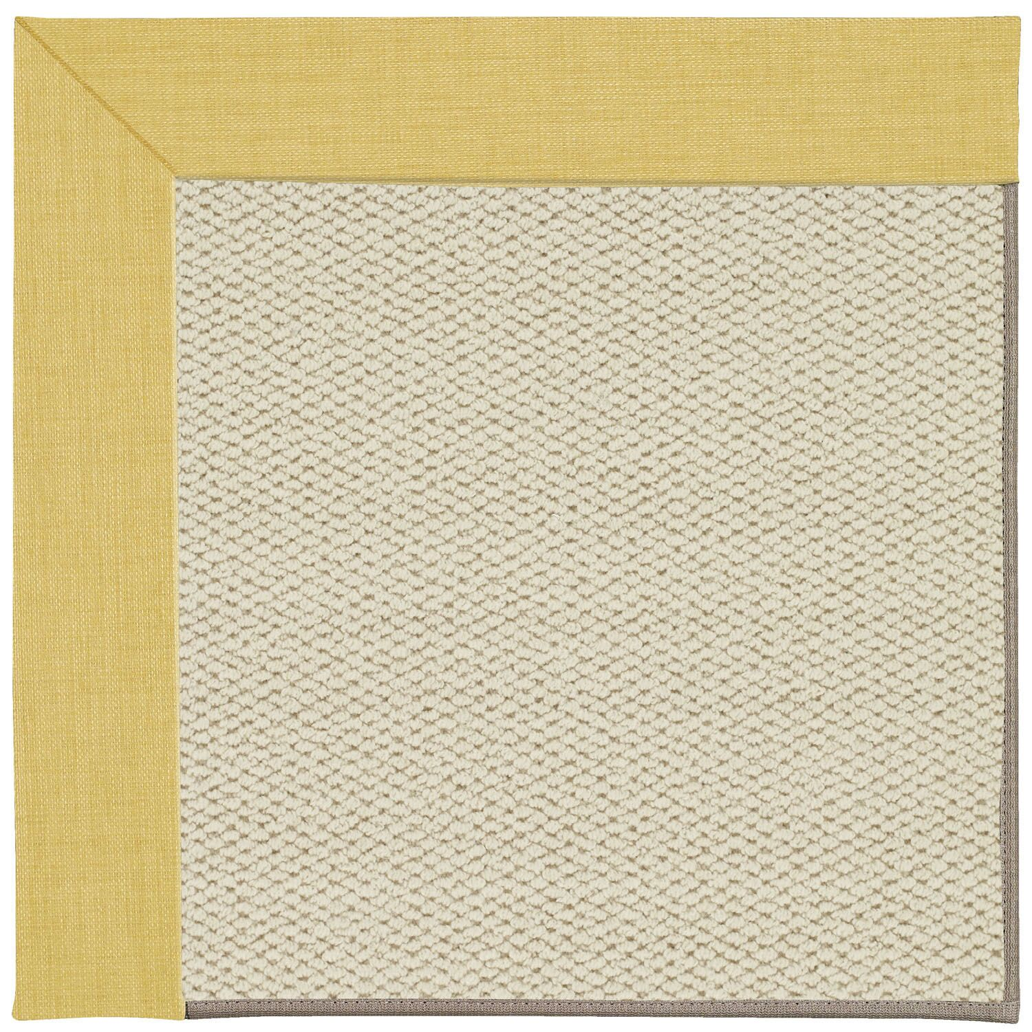 Barrett Linen Machine Tufted Blond Area Rug Rug Size: Rectangle 7' x 9'