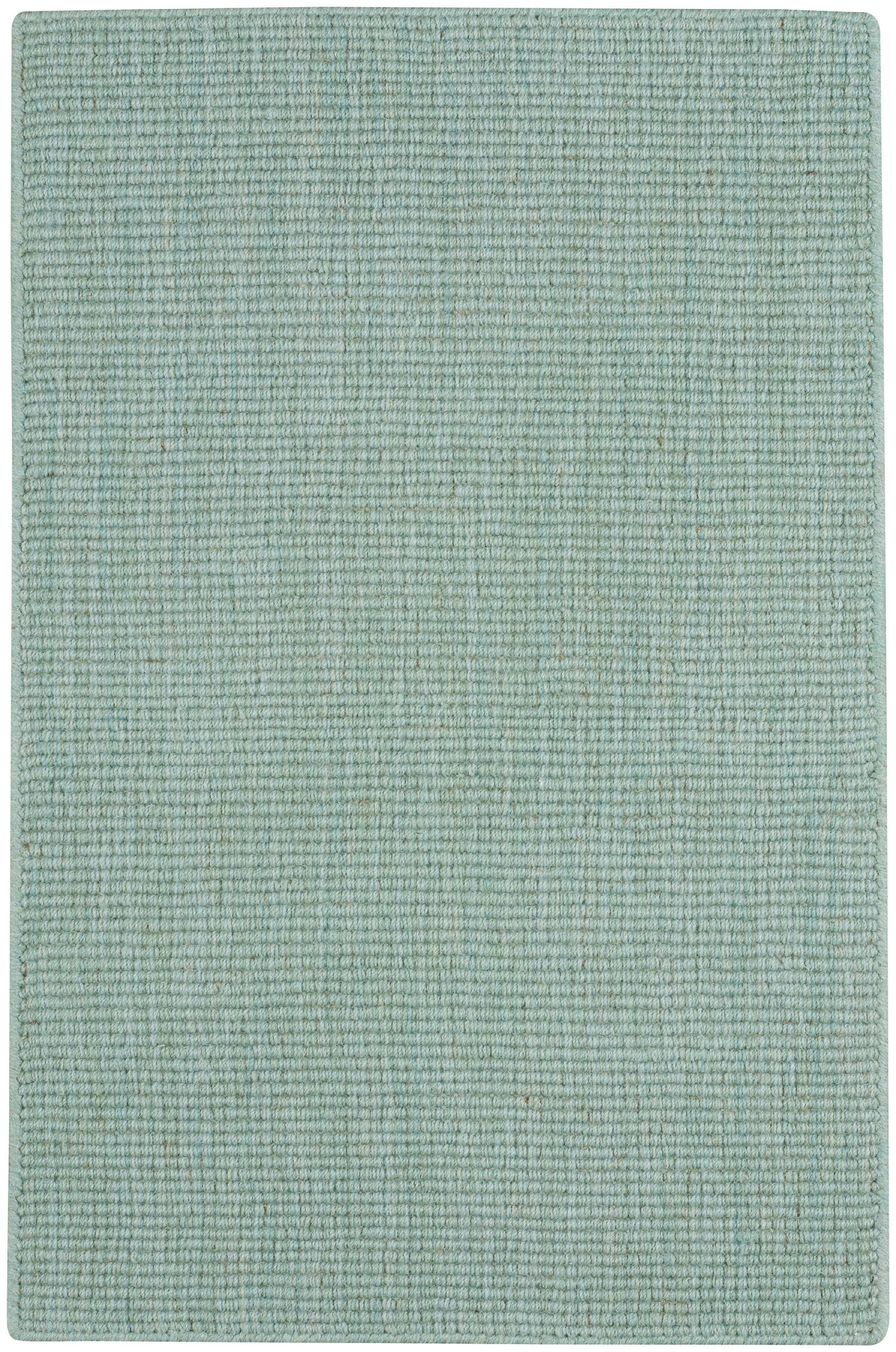 Demi Flat Woven Light Turquoise Area Rug Rug Size: 7' x 9'