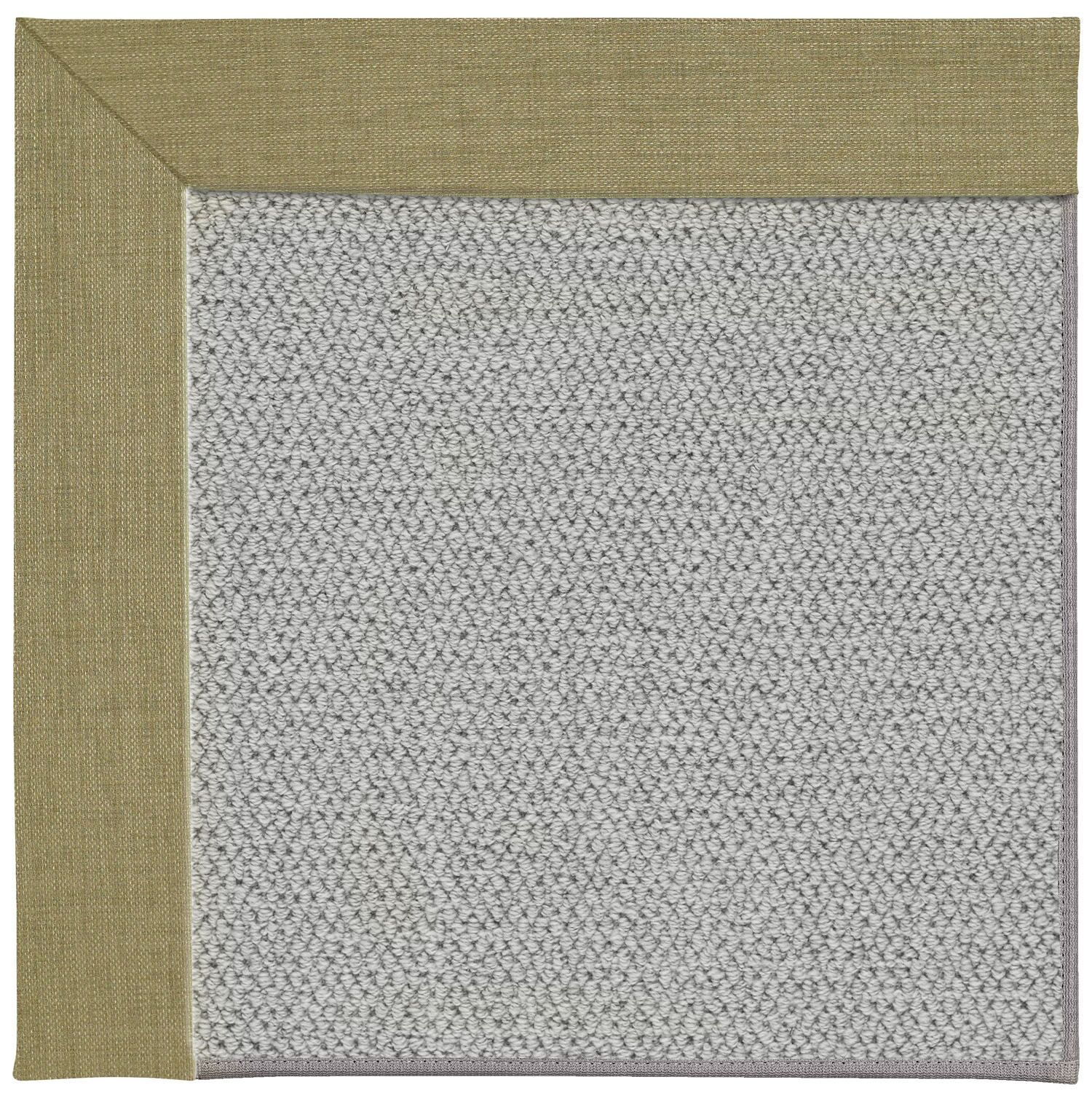 Barrett Silver Machine Tufted Basil/Gray Area Rug Rug Size: Rectangle 12' x 15'