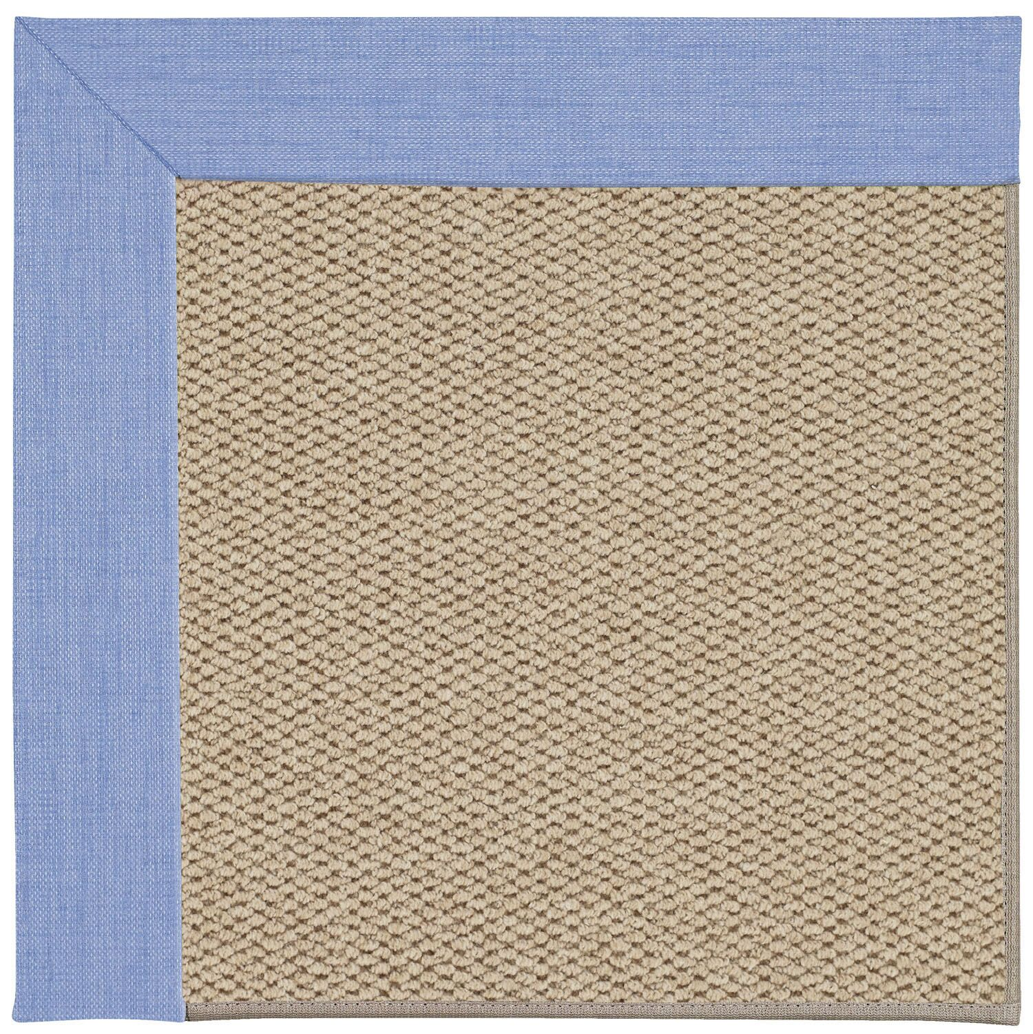 Barrett Champagne Machine Tufted Spa/Beige Area Rug Rug Size: Square 8'