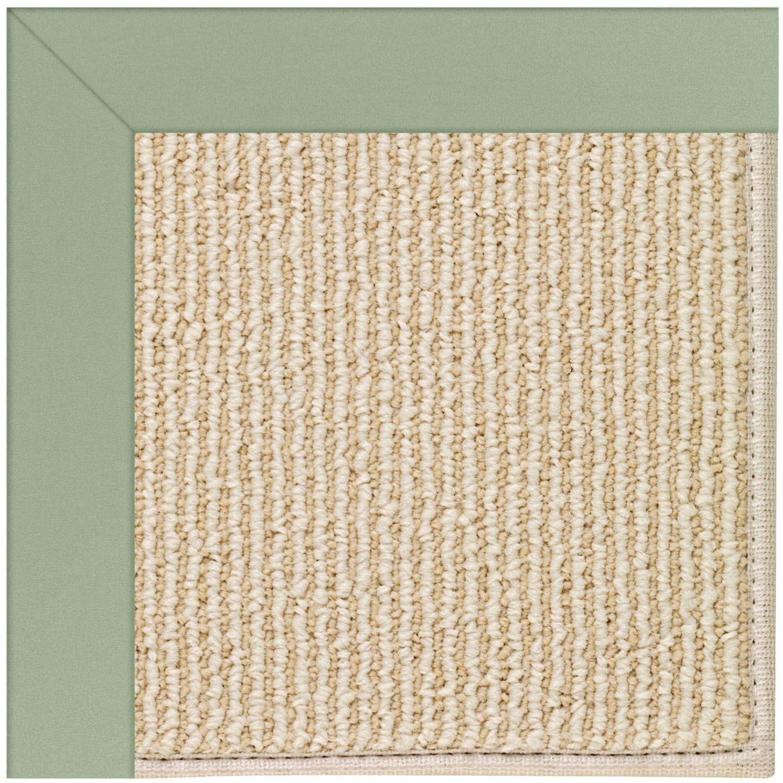 Lisle Machine Tufted Light Jade/Beige Indoor/Outdoor Area Rug Rug Size: Rectangle 7' x 9'