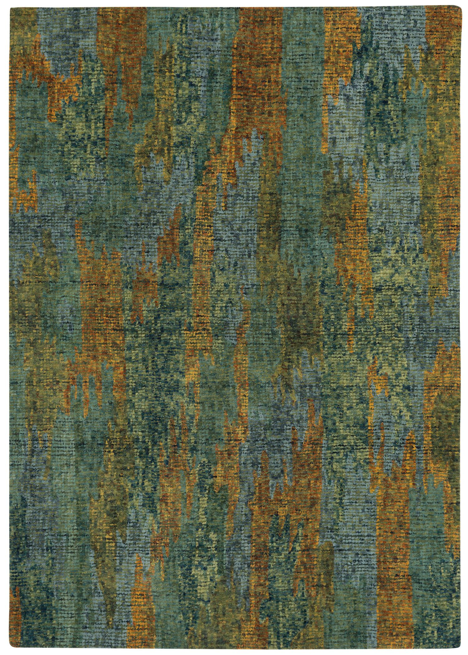 Water Carrier Hand Tufted Area Rug Rug Size: 7' x 9'