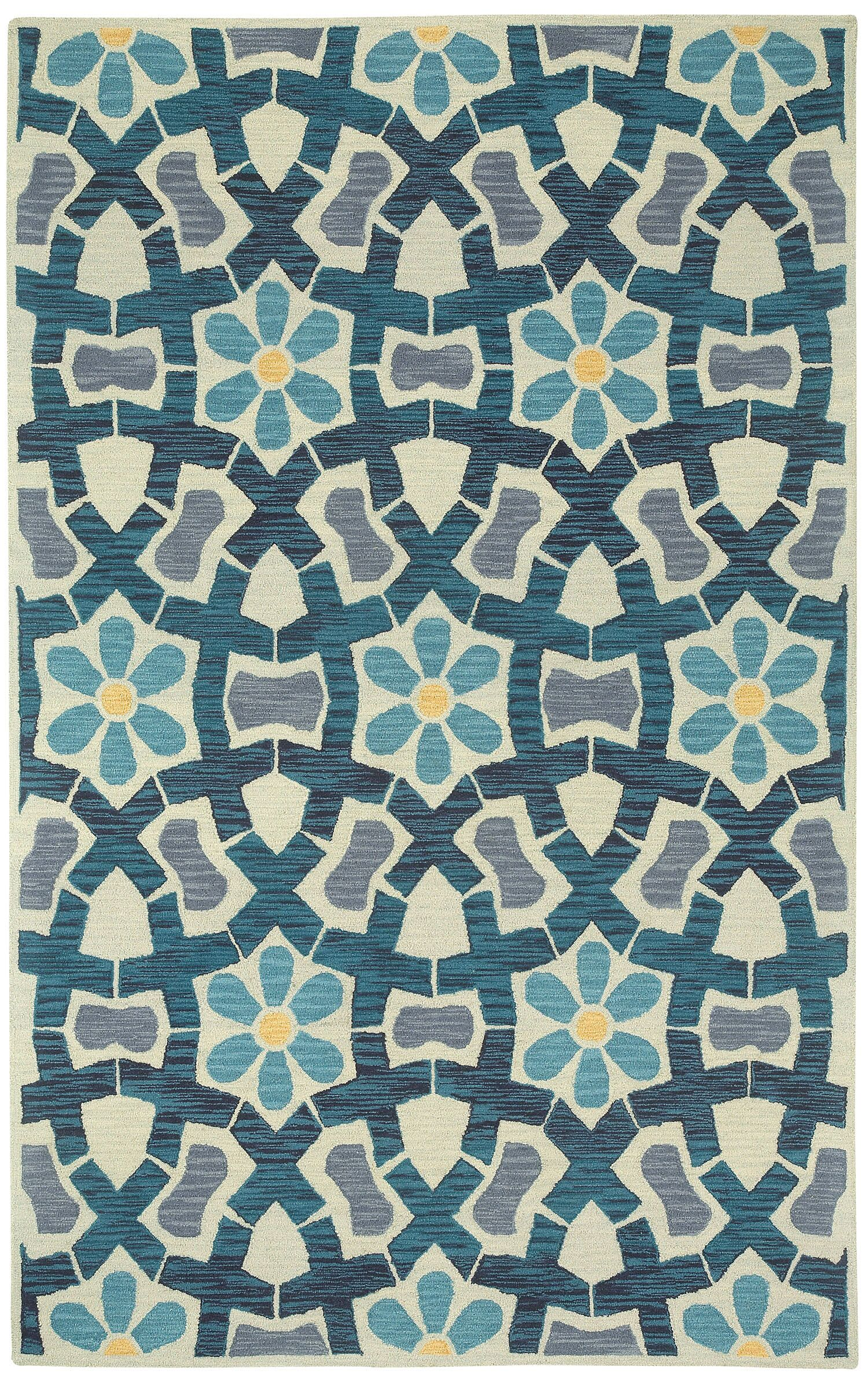 Stepping Stone Hand Tufted Area Rug Rug Size: 8' x 11'
