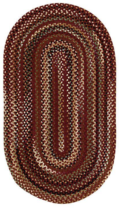 Fort Lupton Cinnamon Area Rug Rug Size: Oval 5' x 8'