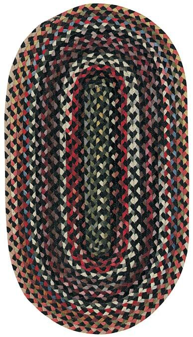 Burbank Black Area Rug Rug Size: Square 5'6
