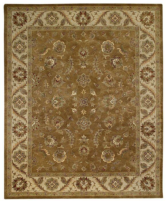 Orinda SaroukTan Area Rug Rug Size: 10' x 13'