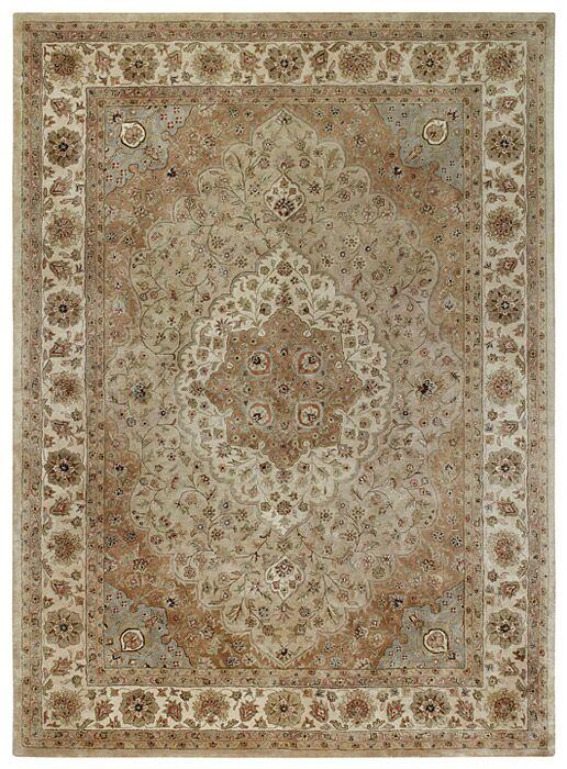 Forest Park Brown Tabriz Area Rug Rug Size: 4' x 6'