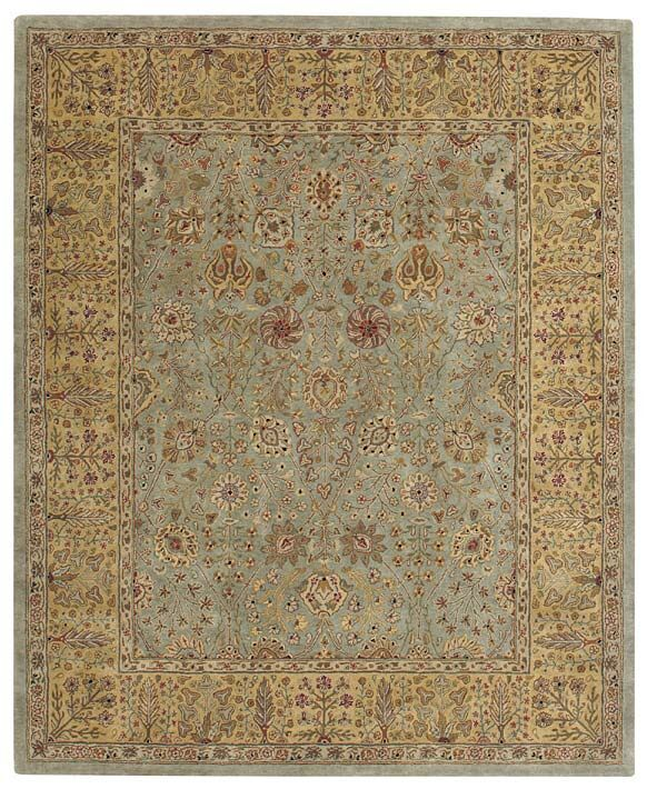 Forest Park Cedars Green Persian Area Rug Rug Size: Rectangle 5'6