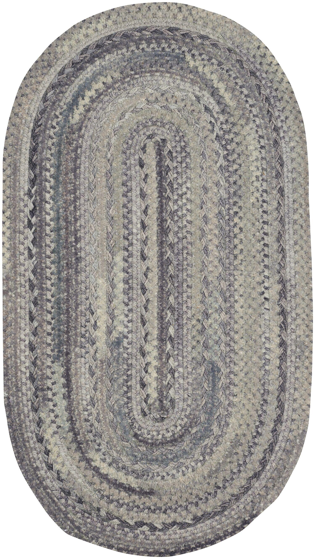 Lyam Cinder Area Rug Rug Size: Oval 8' x 11'