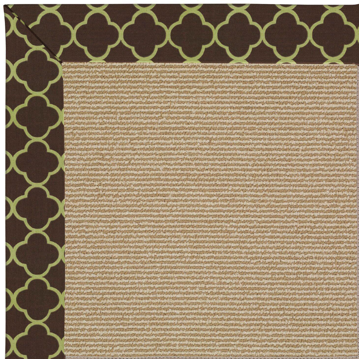 Lisle Beige Indoor/Outdoor Area Rug Rug Size: Rectangle 7' x 9'
