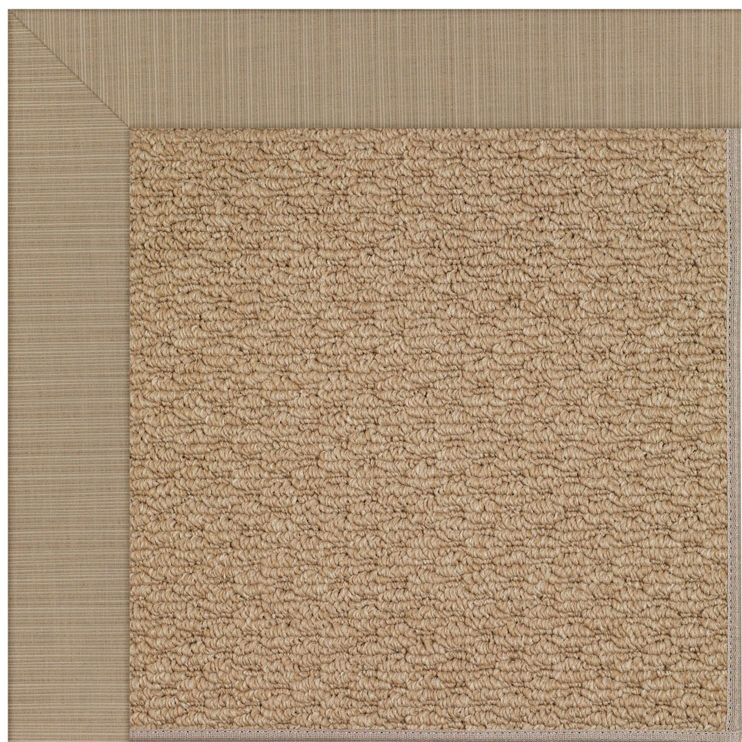 Lisle Brown Indoor/Outdoor Area Rug Rug Size: Rectangle 2' x 3'