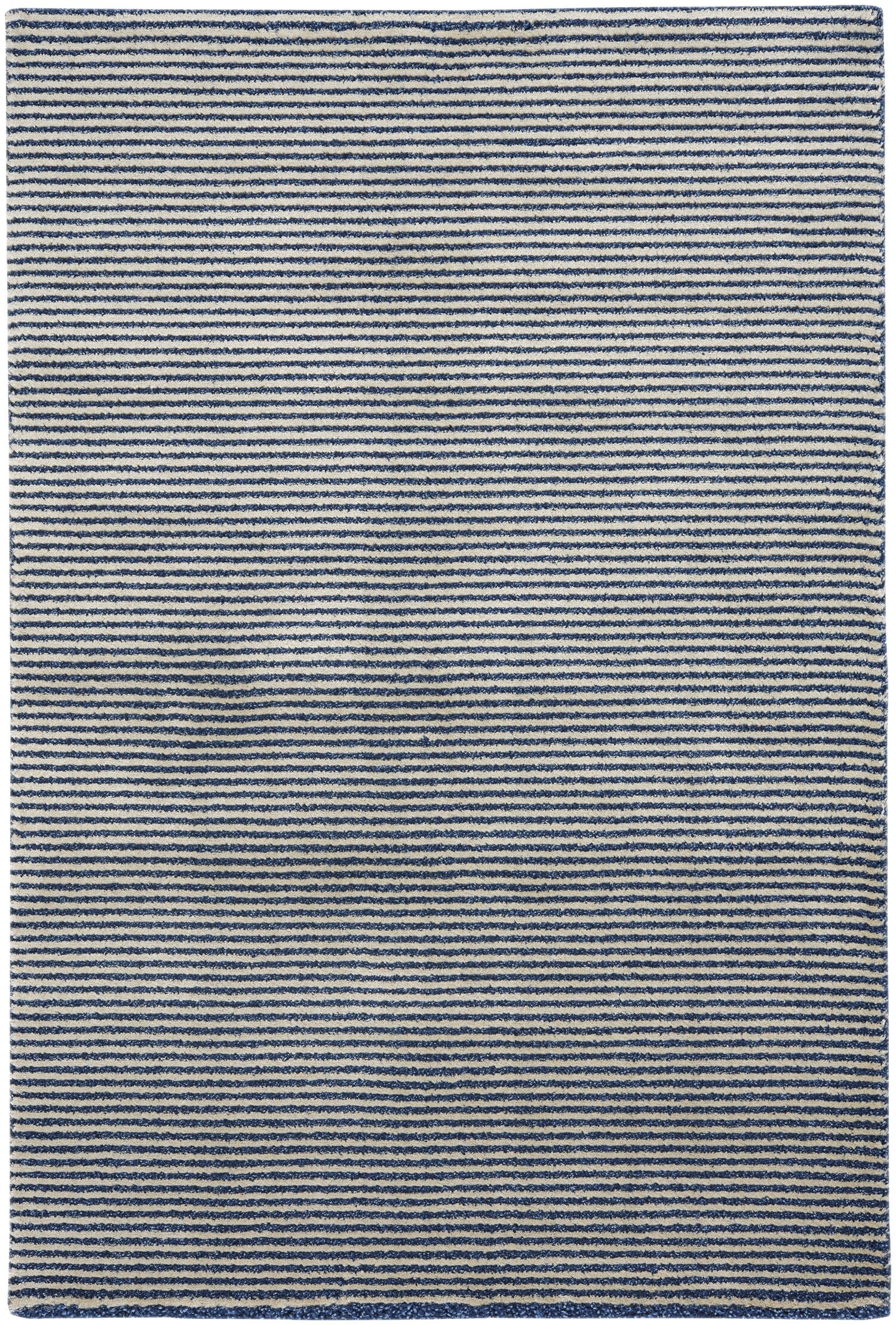 Gravitation White/Blue Area Rug Rug Size: 3'11