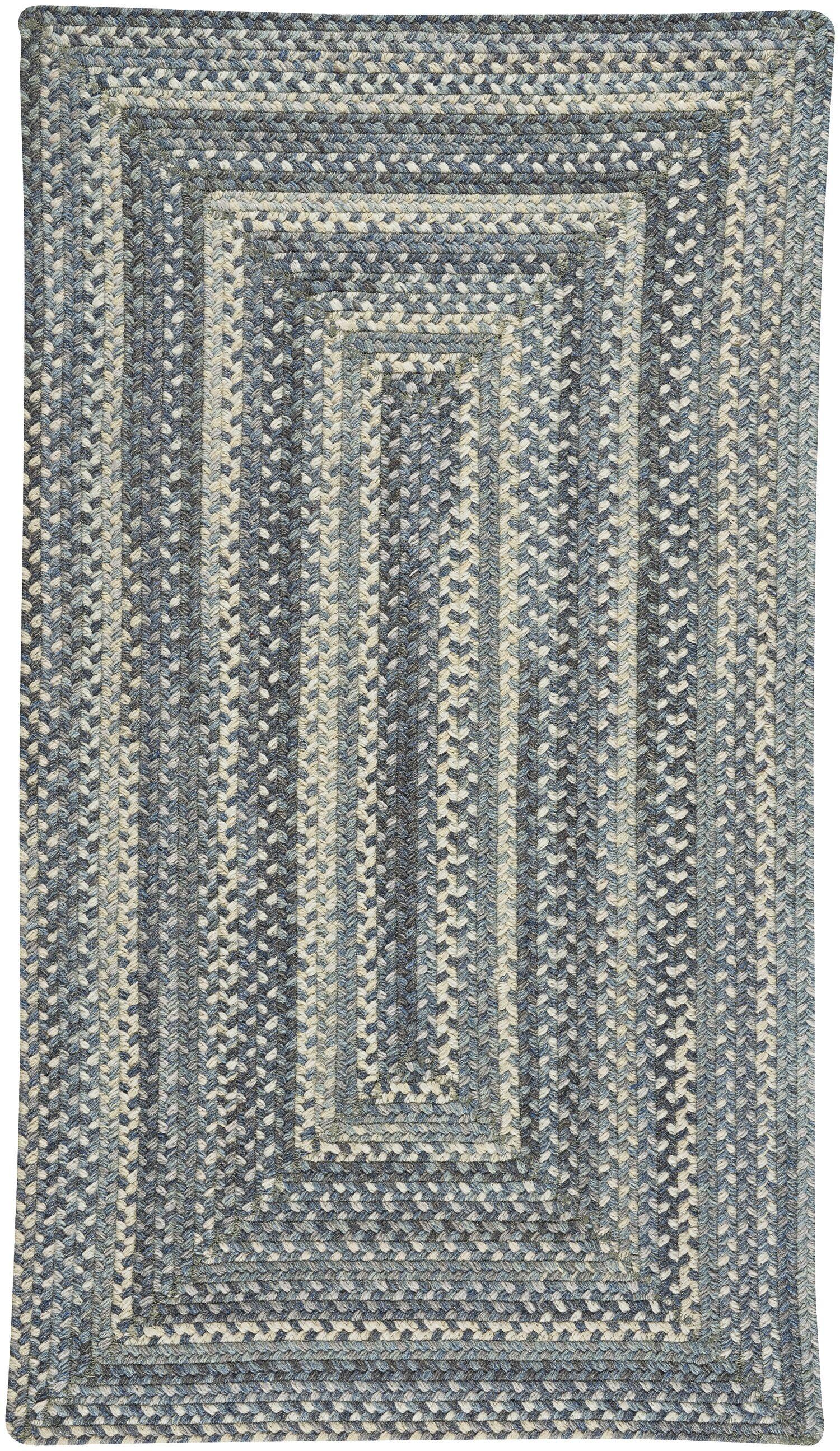 Myrtille Blue Jean Area Rug Rug Size: Rectangle 2'3