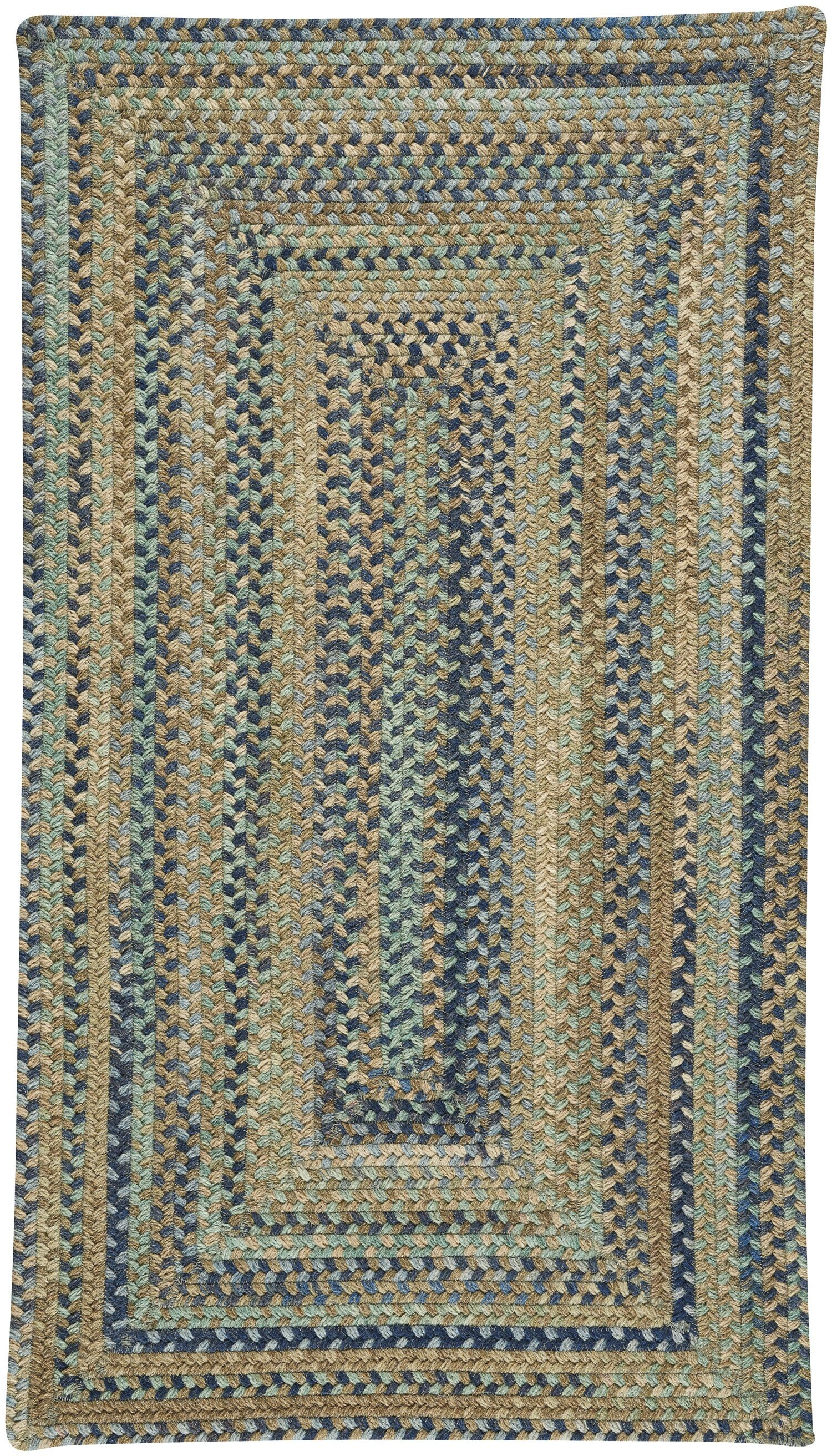 Myrtille Green Area Rug Rug Size: Rectangle 4' x 6'