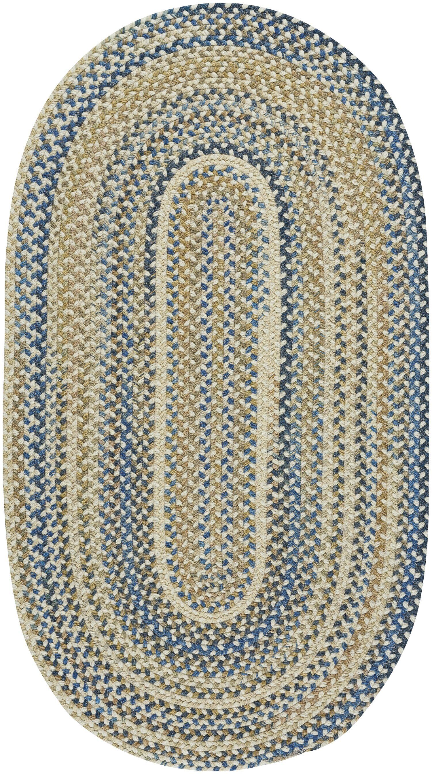 Myrtille Light Tan Area Rug Rug Size: Oval 7' x 9'