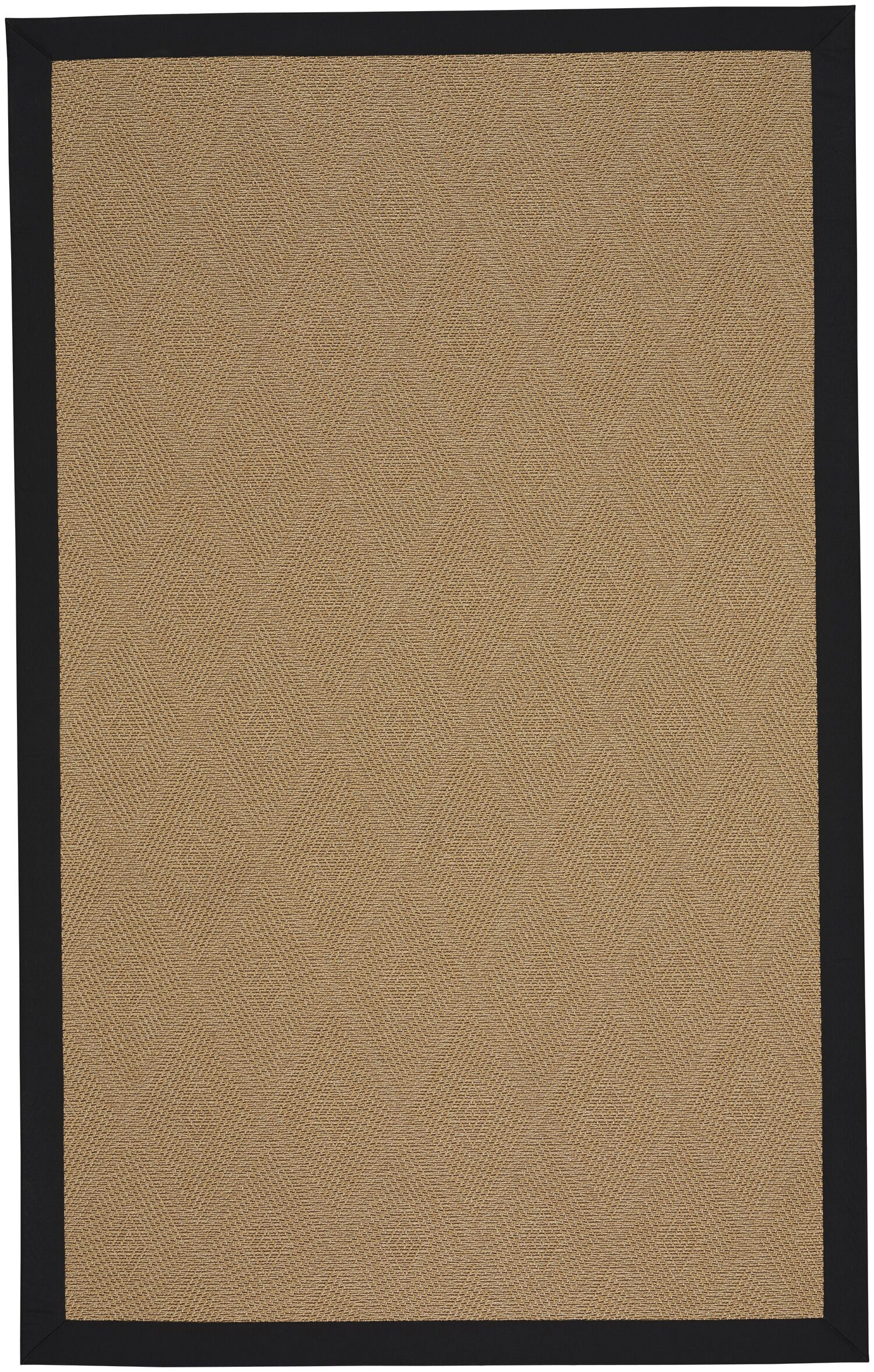 Gresham Agave Braided Ebony Tan Indoor/Outdoor Area Rug Rug Size: Square 8'