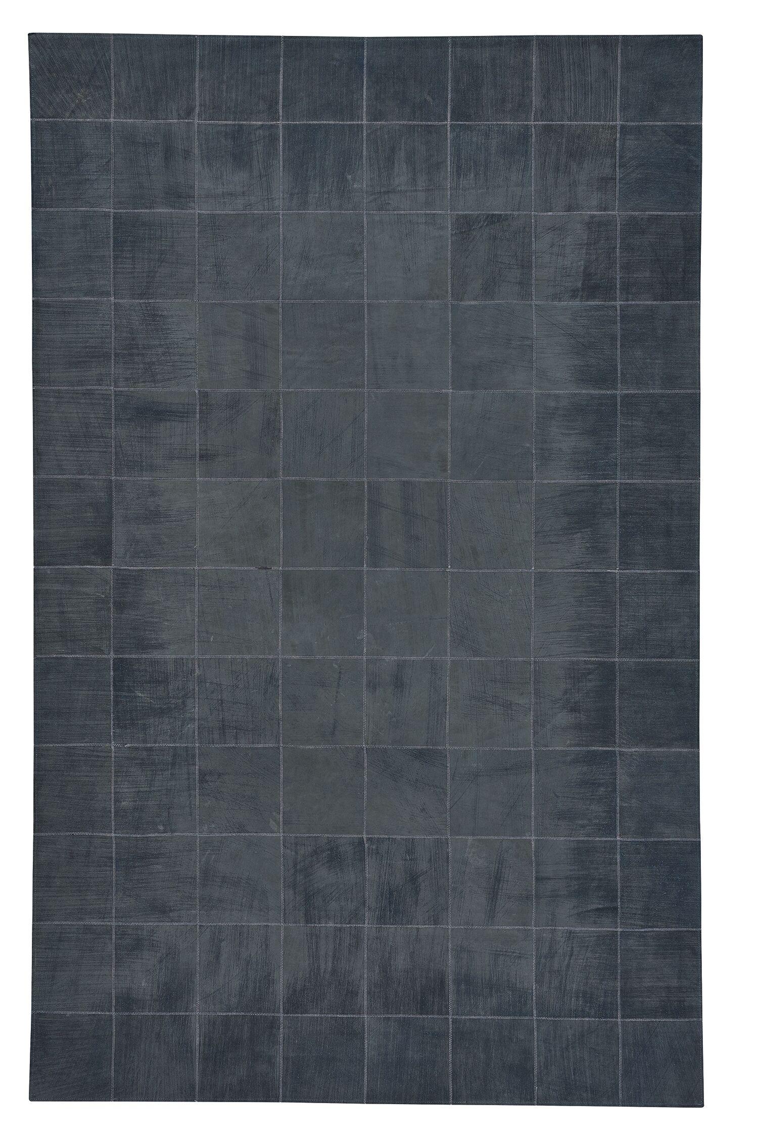 Ramanna Dark Blue Area Rug Rug Size: 5' x 8'