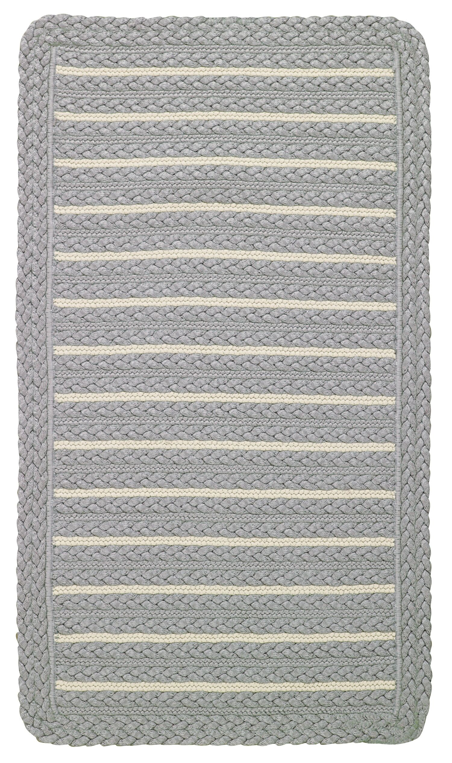 Lyndon Smoke Beige Indoor/Outdoor Area Rug Rug Size: Cross Sewn Runner 2' x 8'