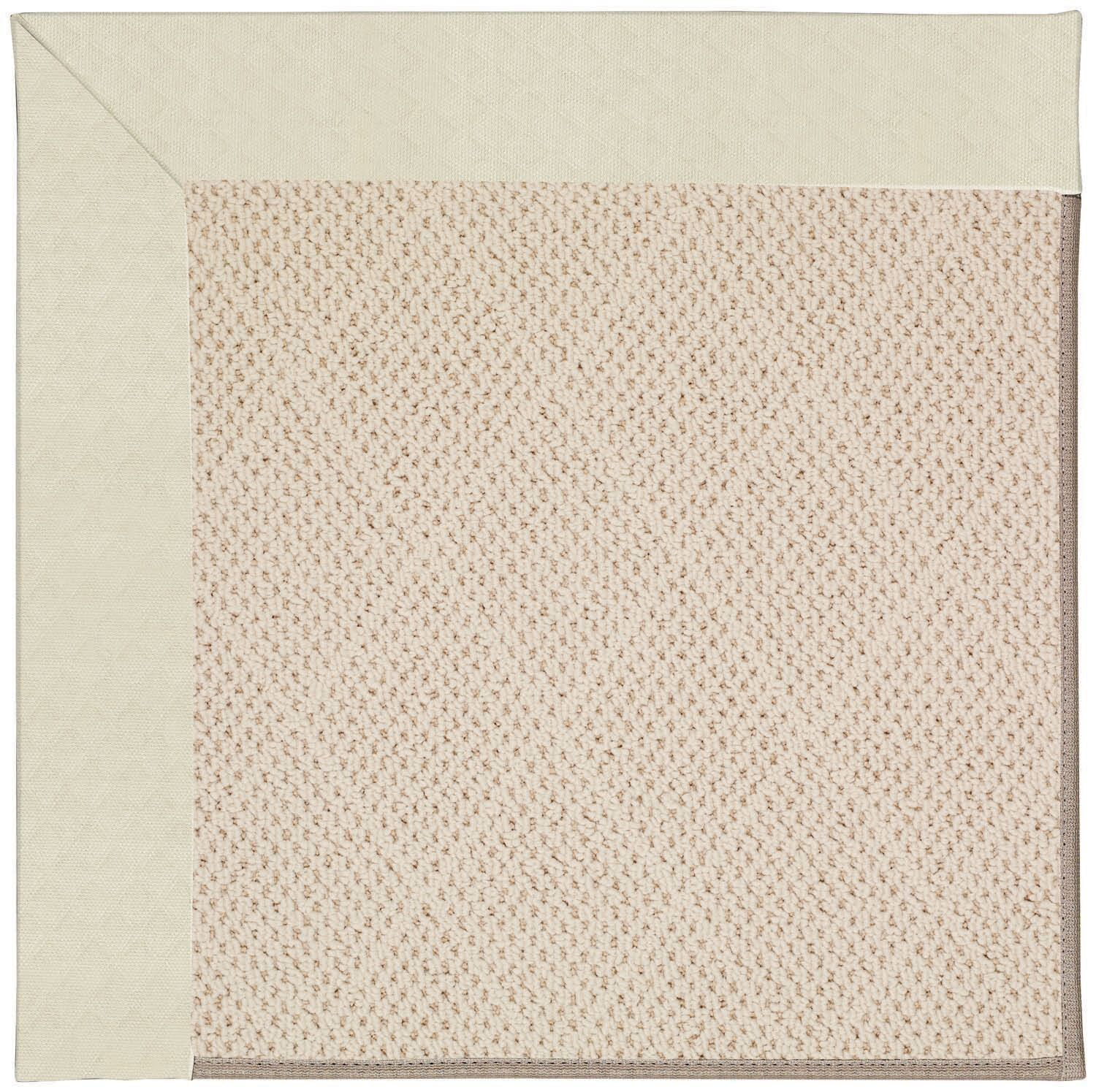 Lisle Cream Indoor/Outdoor Area Rug Rug Size: Rectangle 10' x 14'