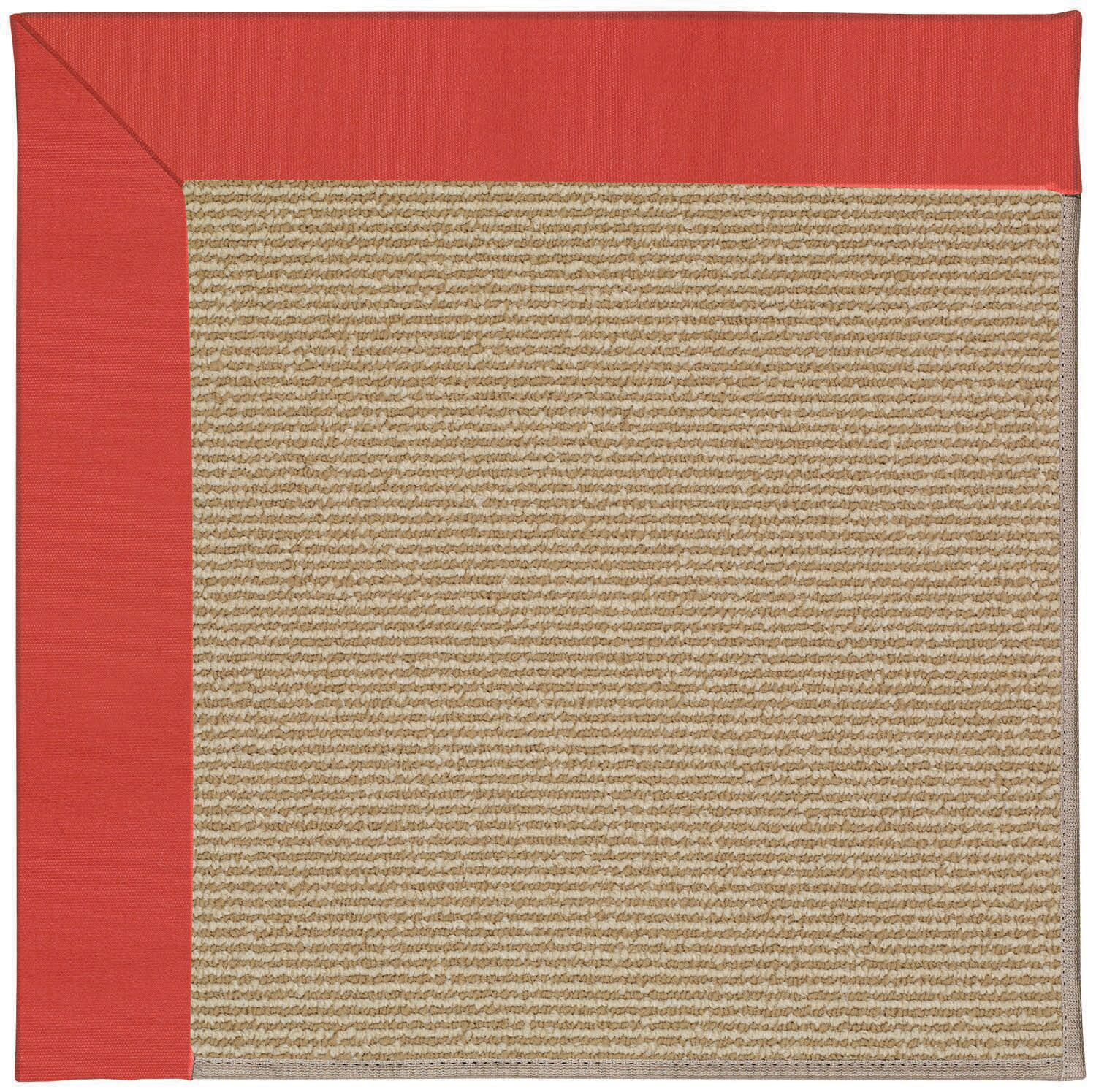 Lisle Machine Tufted Sunset Red/Brown Indoor/Outdoor Area Rug Rug Size: Rectangle 12' x 15'