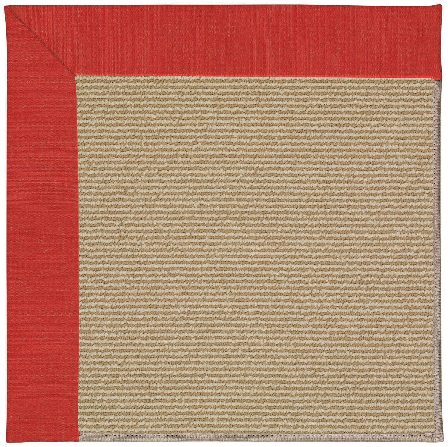 Lisle Machine Tufted Red Crimson/Brown Indoor/Outdoor Area Rug Rug Size: Rectangle 9' x 12'