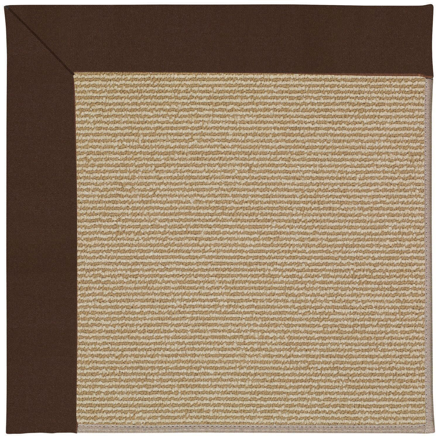 Lisle Machine Tufted Brown and Beige Indoor/Outdoor Area Rug Rug Size: Rectangle 8' x 10'