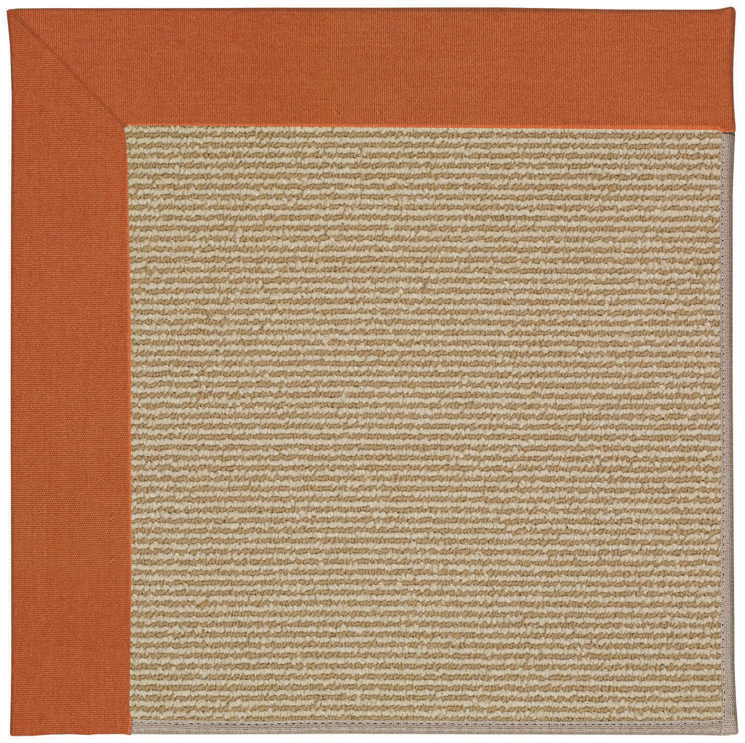 Lisle Machine Tufted Russet/Brown Indoor/Outdoor Area Rug Rug Size: Rectangle 4' x 6'