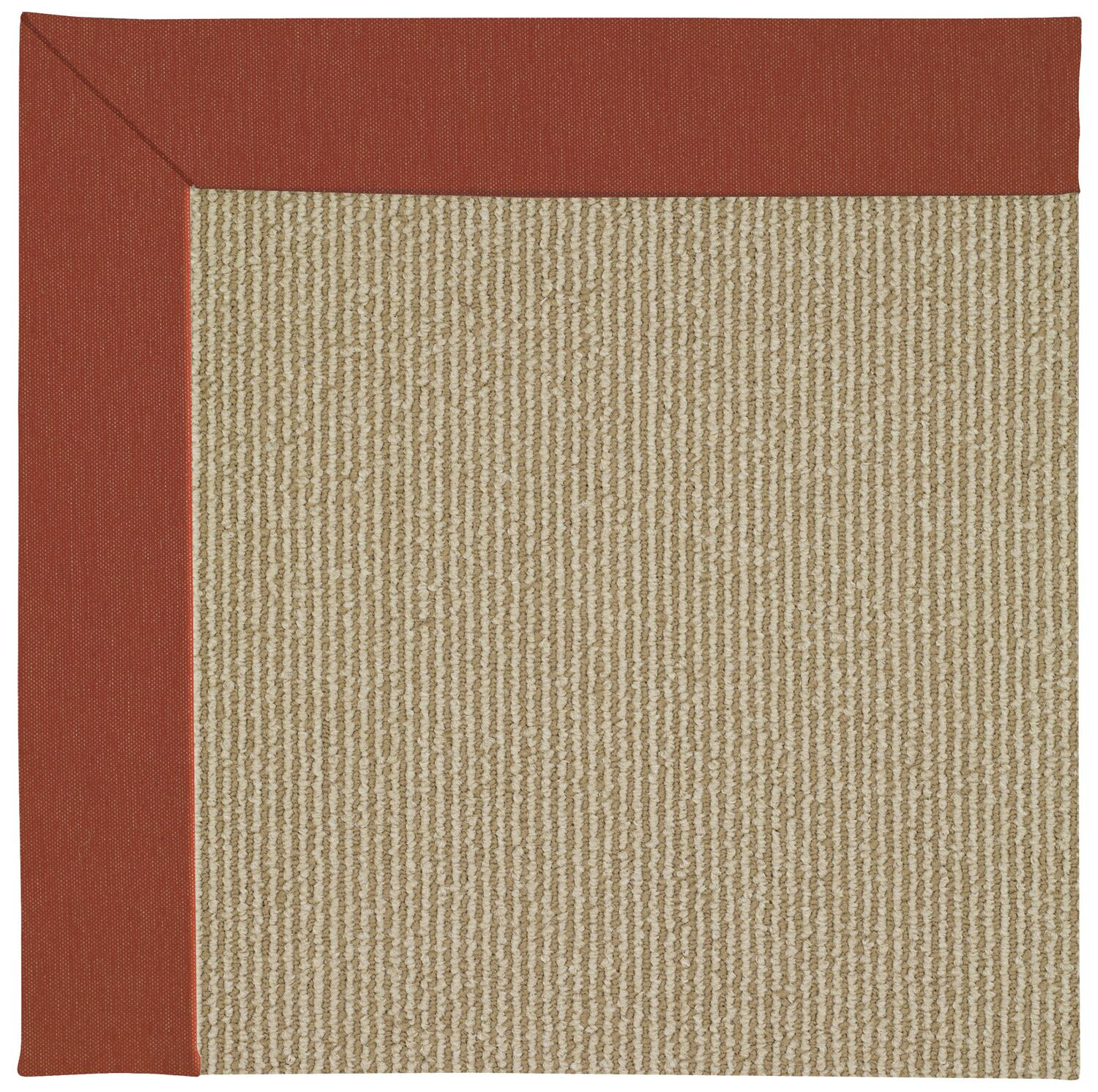 Lisle Machine Tufted Strawberry/Brown Indoor/Outdoor Area Rug Rug Size: Rectangle 9' x 12'