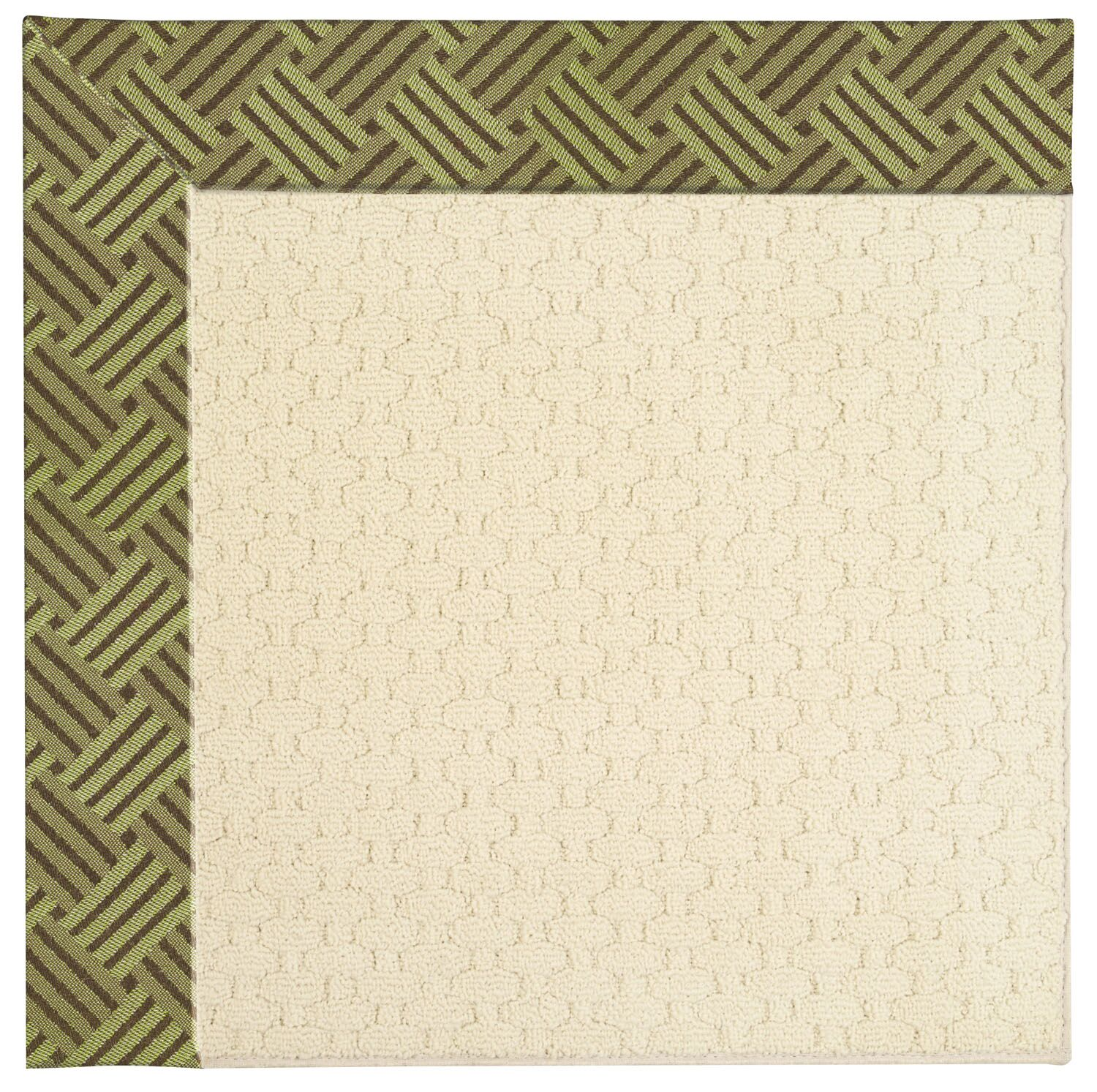 Lisle Off White Indoor/Outdoor Area Rug Rug Size: Square 10'