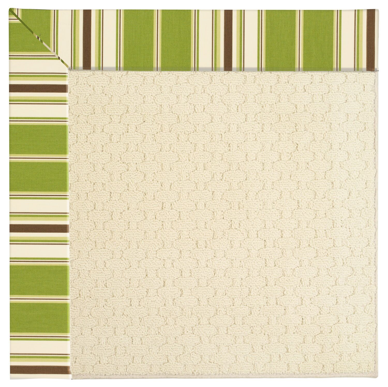 Lisle Off White Indoor/Outdoor Area Rug Rug Size: Rectangle 10' x 14'
