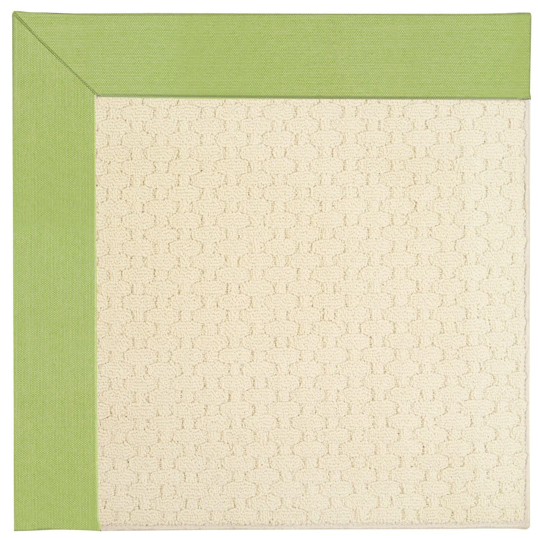 Lisle Cream Indoor/Outdoor Area Rug Rug Size: Square 8'