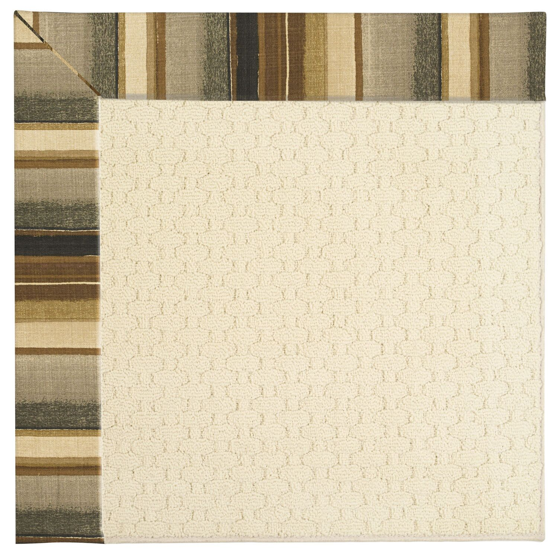 Lisle Light Beige Indoor/Outdoor Area Rug Rug Size: Square 4'