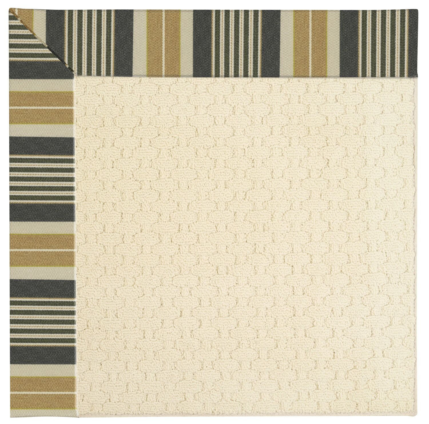 Lisle Beige Indoor/Outdoor Area Rug Rug Size: Square 8'