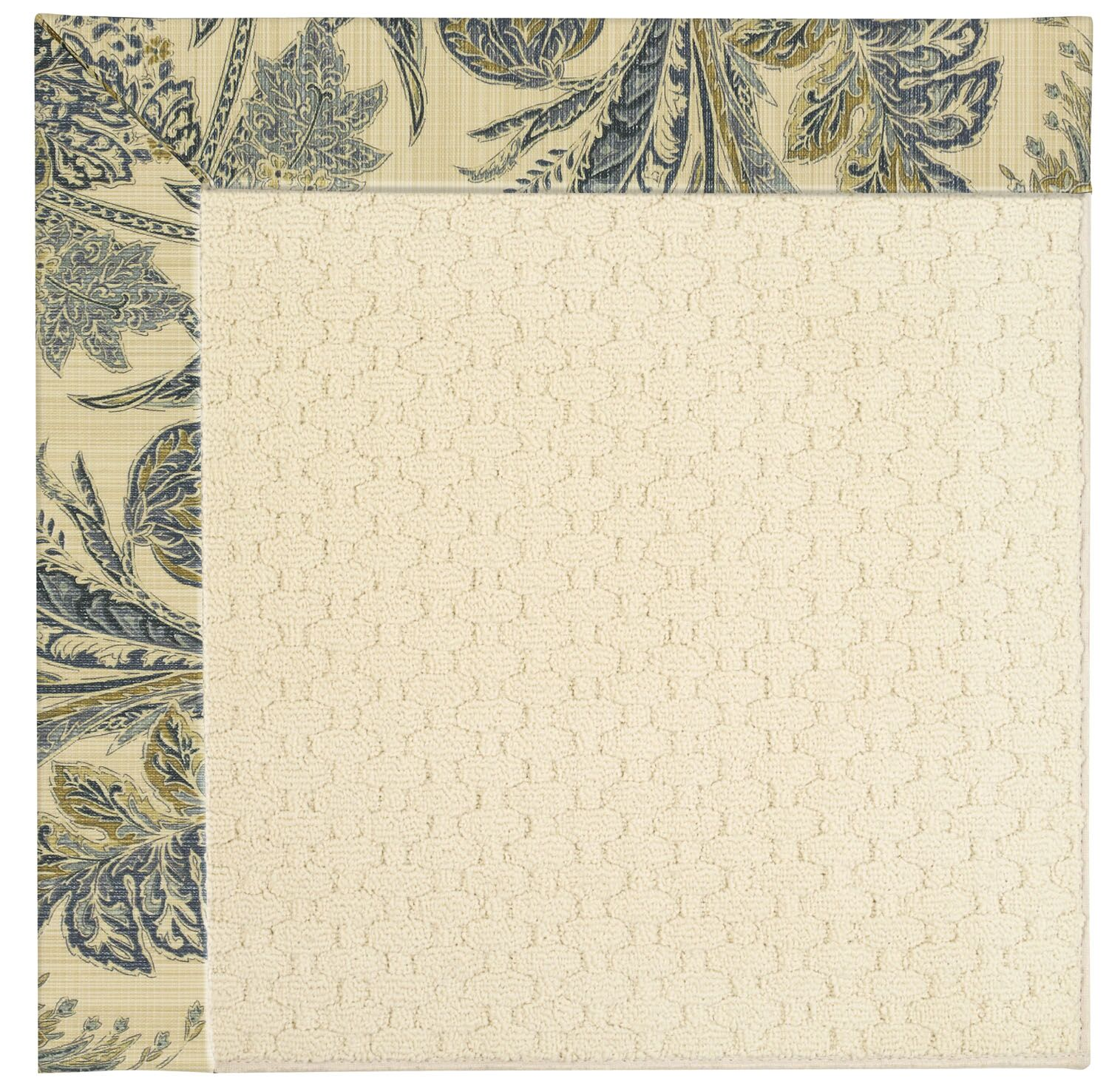 Lisle Cream Indoor/Outdoor Area Rug Rug Size: Rectangle 9' x 12'