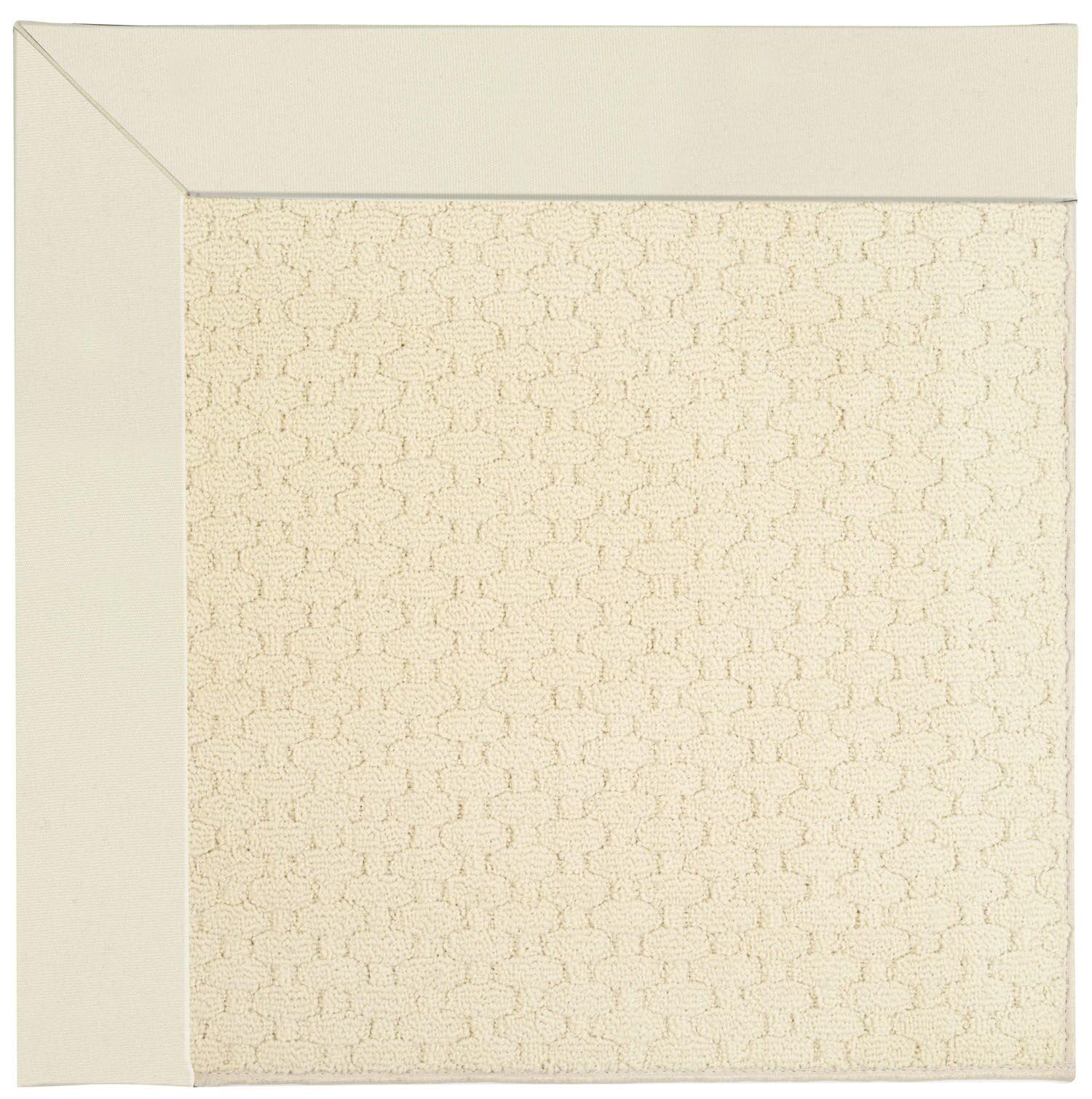 Lisle Alabaster Indoor/Outdoor Area Rug Rug Size: Rectangle 5' x 8'