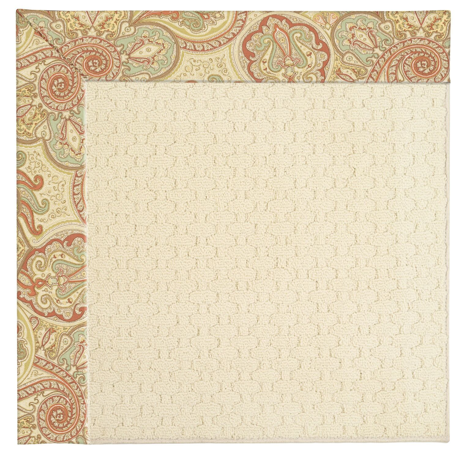Lisle Beige Indoor/Outdoor Area Rug Rug Size: Rectangle 8' x 10'