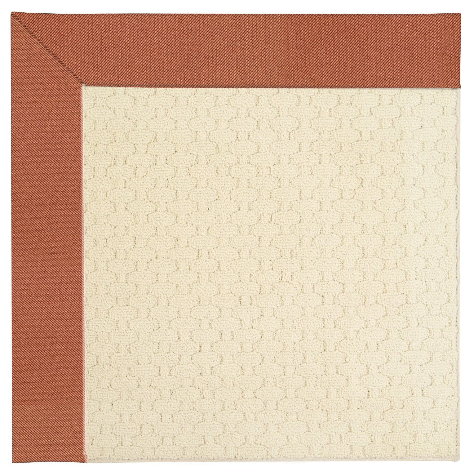 Lisle Off White Indoor/Outdoor Area Rug Rug Size: Square 12'